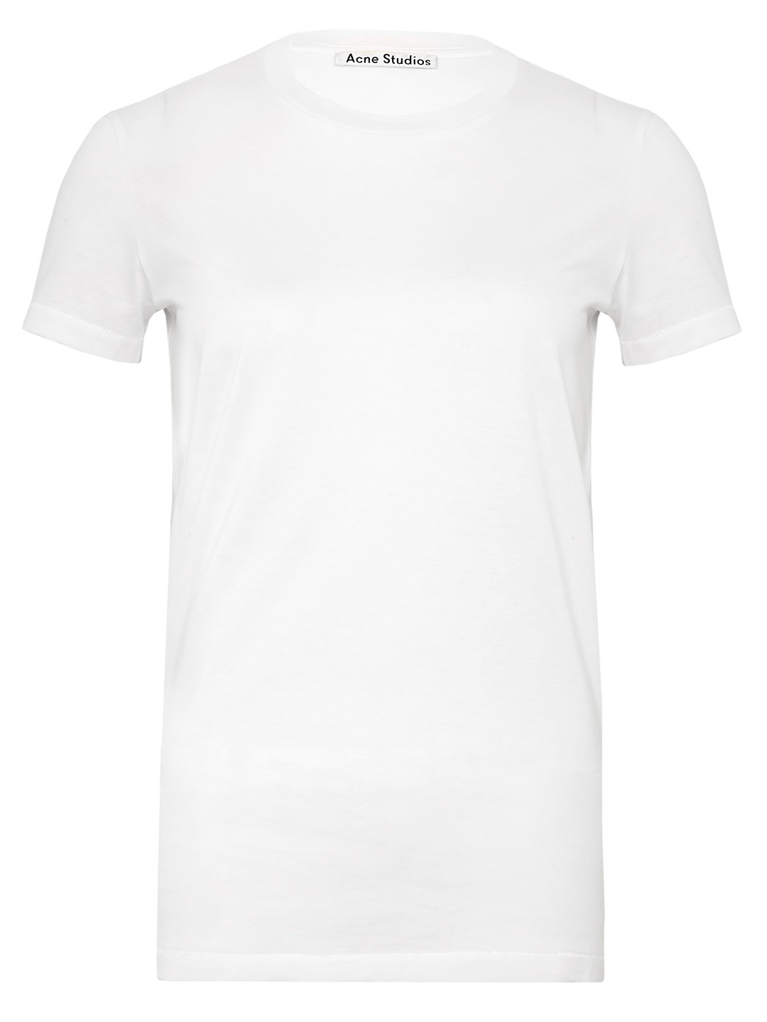 Acne Studios Womens Bliss Classic Crew Neck T Shirt In