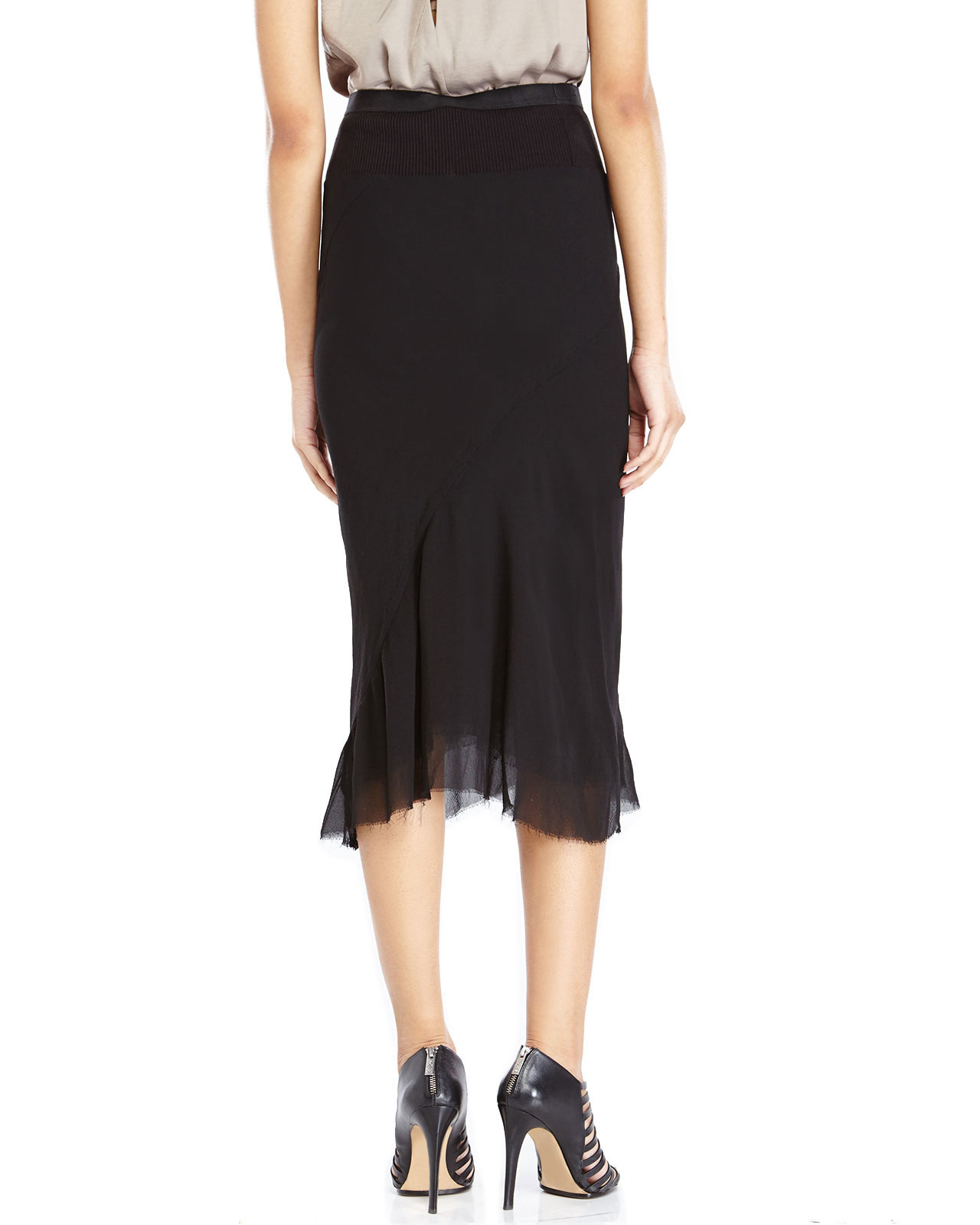 draped pencil dress - Black Rick Owens WioMoN94jj