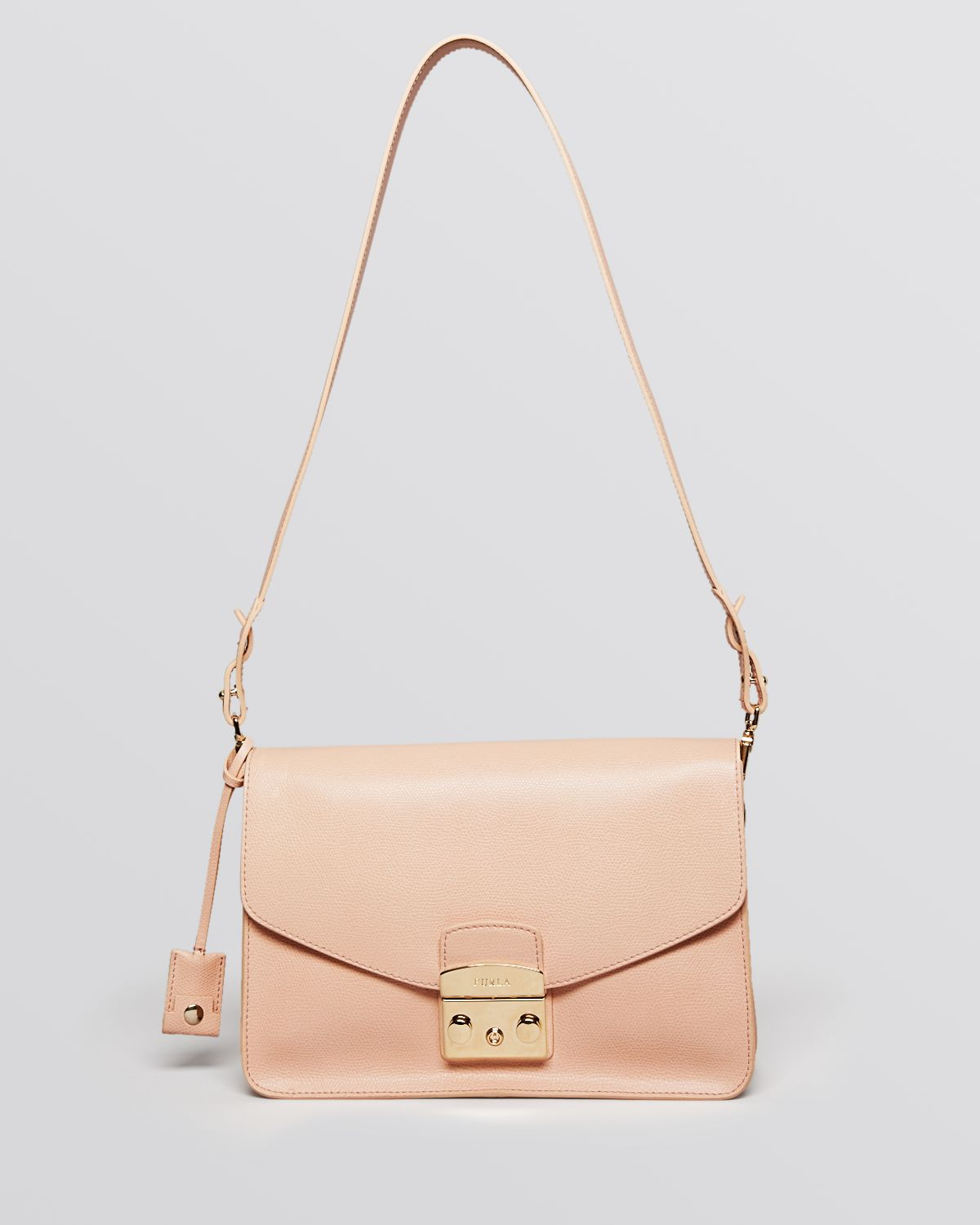 Furla Shoulder Bag - Metropolis Small in Natural | Lyst
