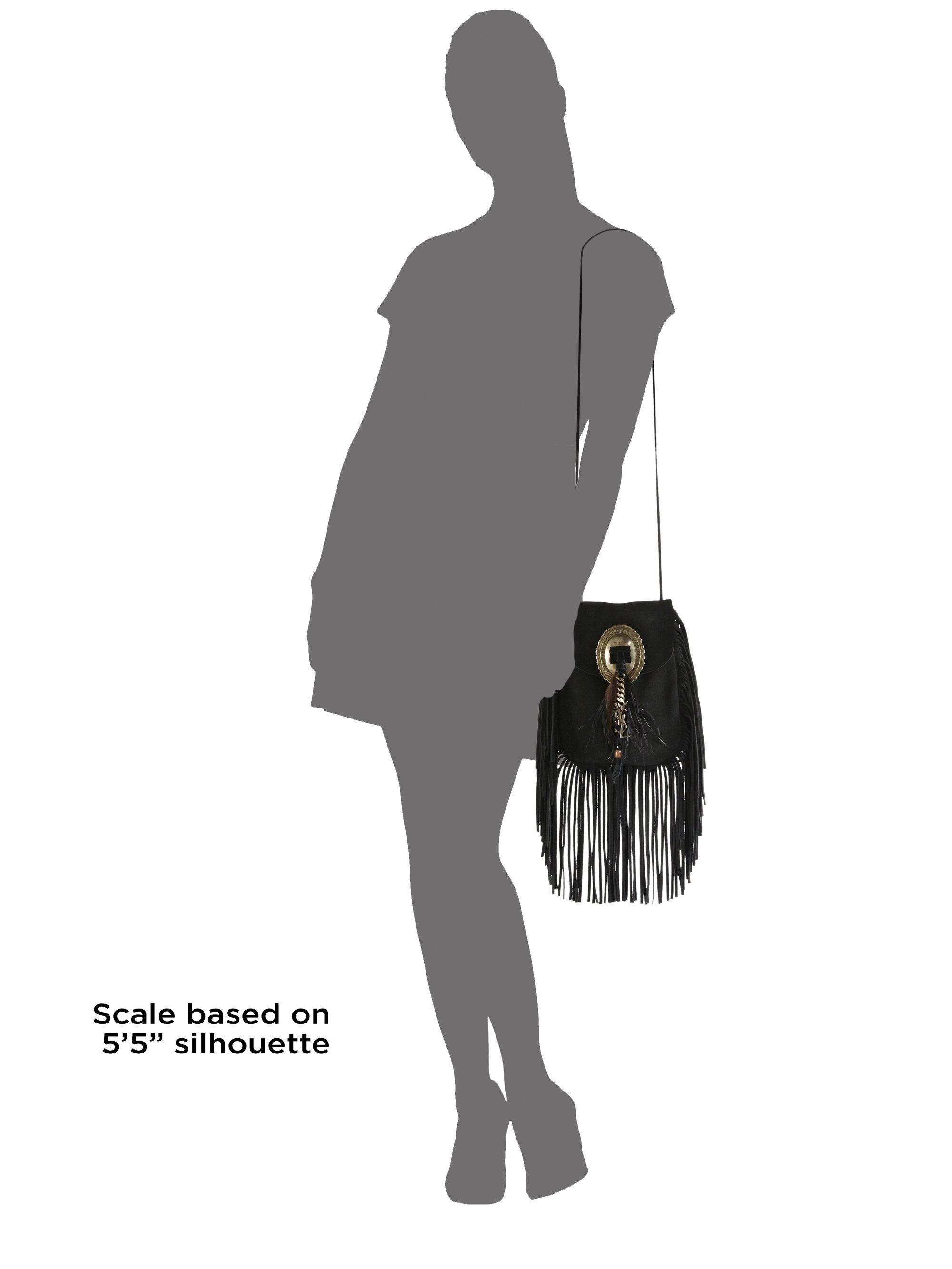 ysl replica handbag - yves saint laurent helena studded leather fringe crossbody bag ...