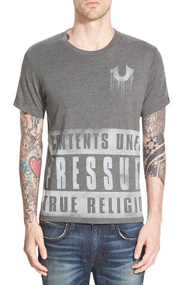 Contents Under Pressure: True Religion 'Contents Under Pressure' Graphic T-Shirt In