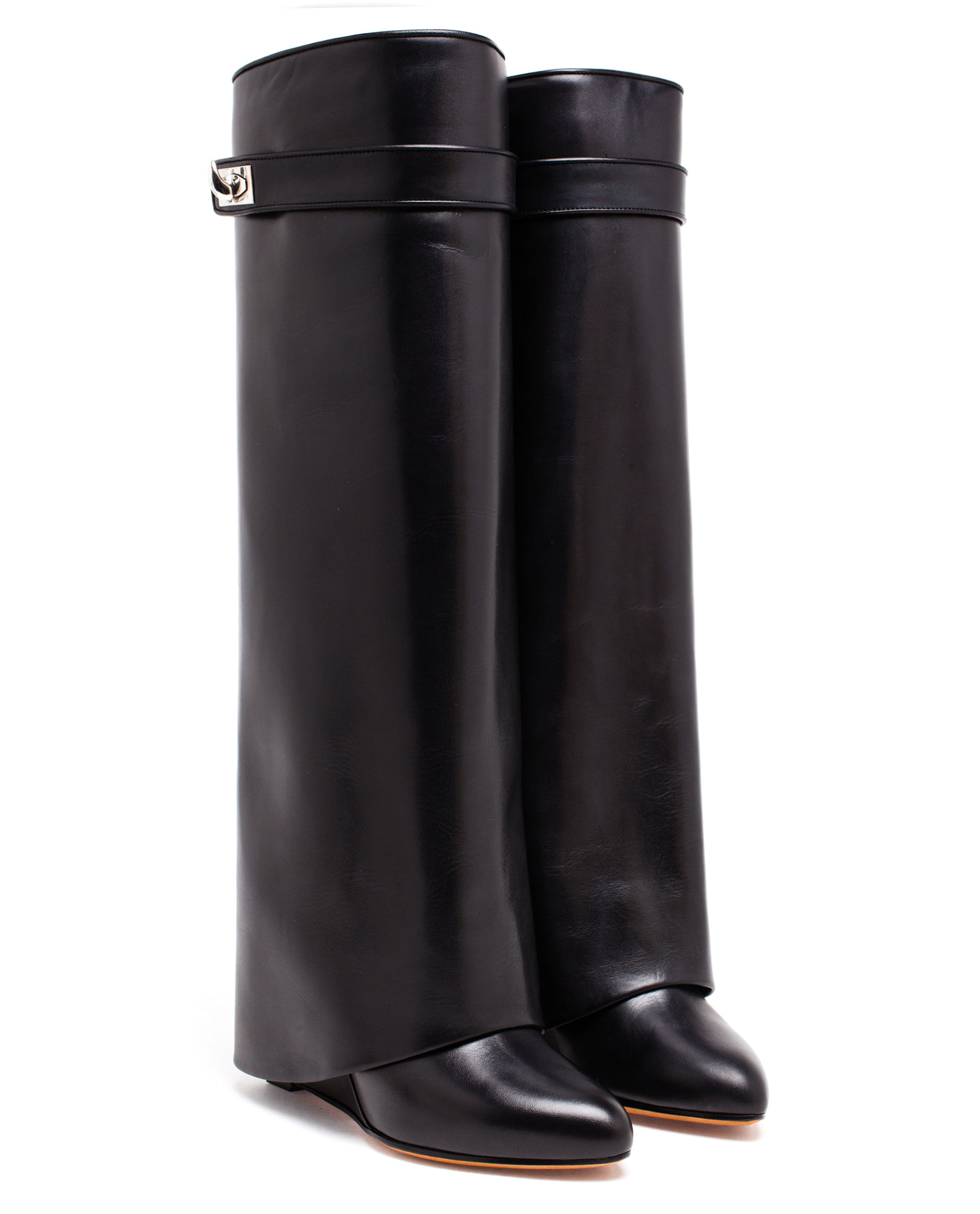 Givenchy Leather Wedged Boots best prices sale online buy cheap wide range of new for sale discount best seller u5o5QKxEwu
