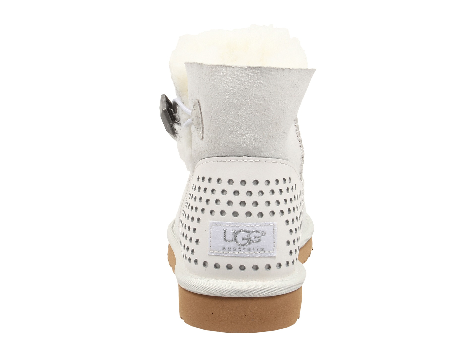 white mini uggs