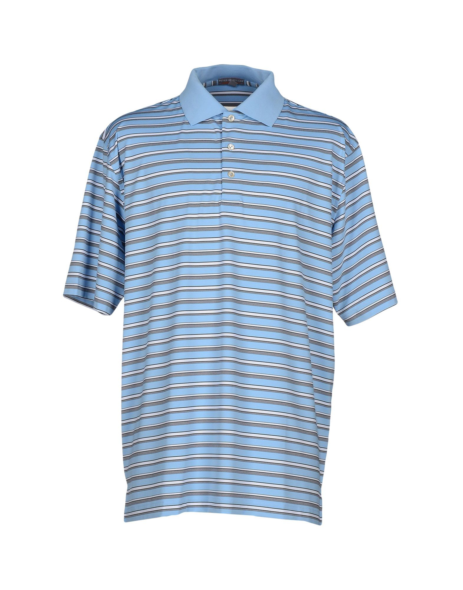 peter millar polo shirt in blue for men lyst
