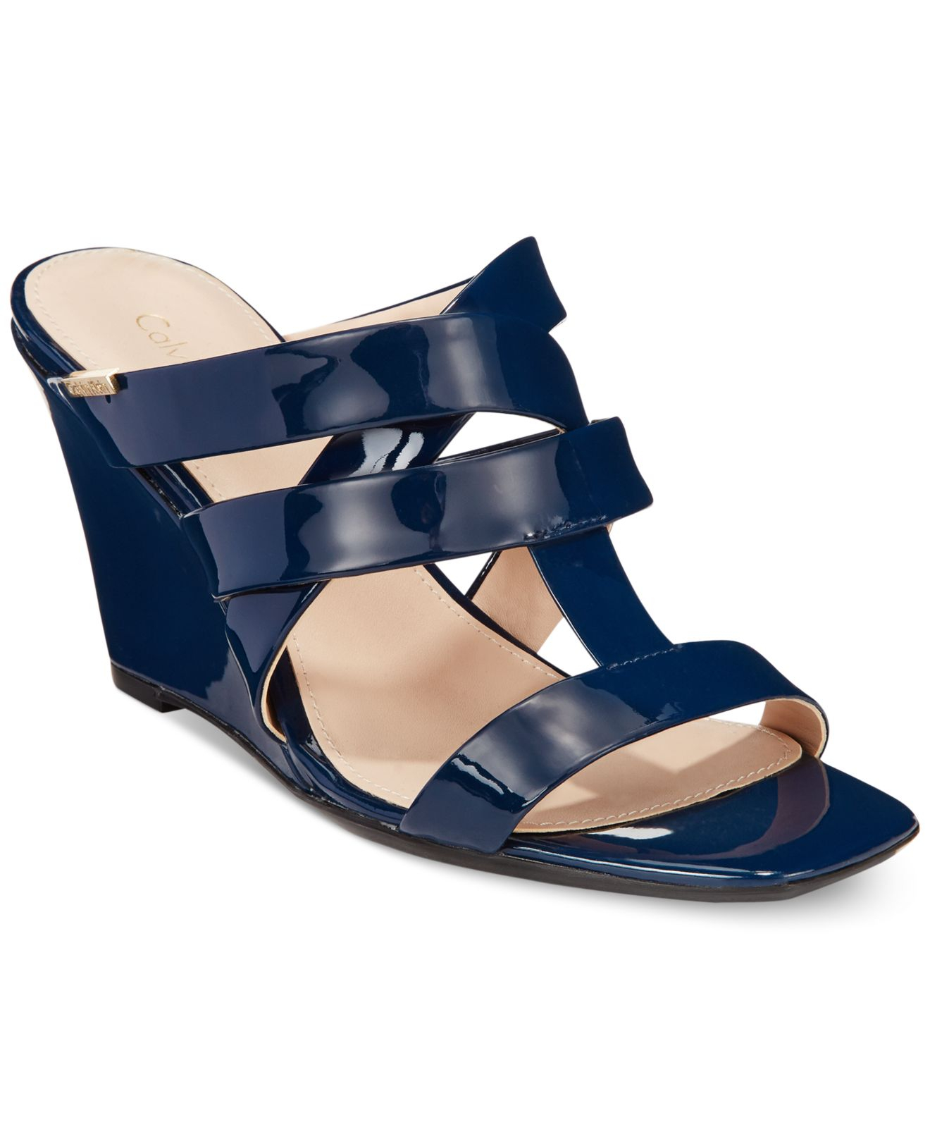 d2361169f60 Gallery. Previously sold at  Macy s · Women s Chloe Gladiator Sandals  Women s Silver Wedges ...