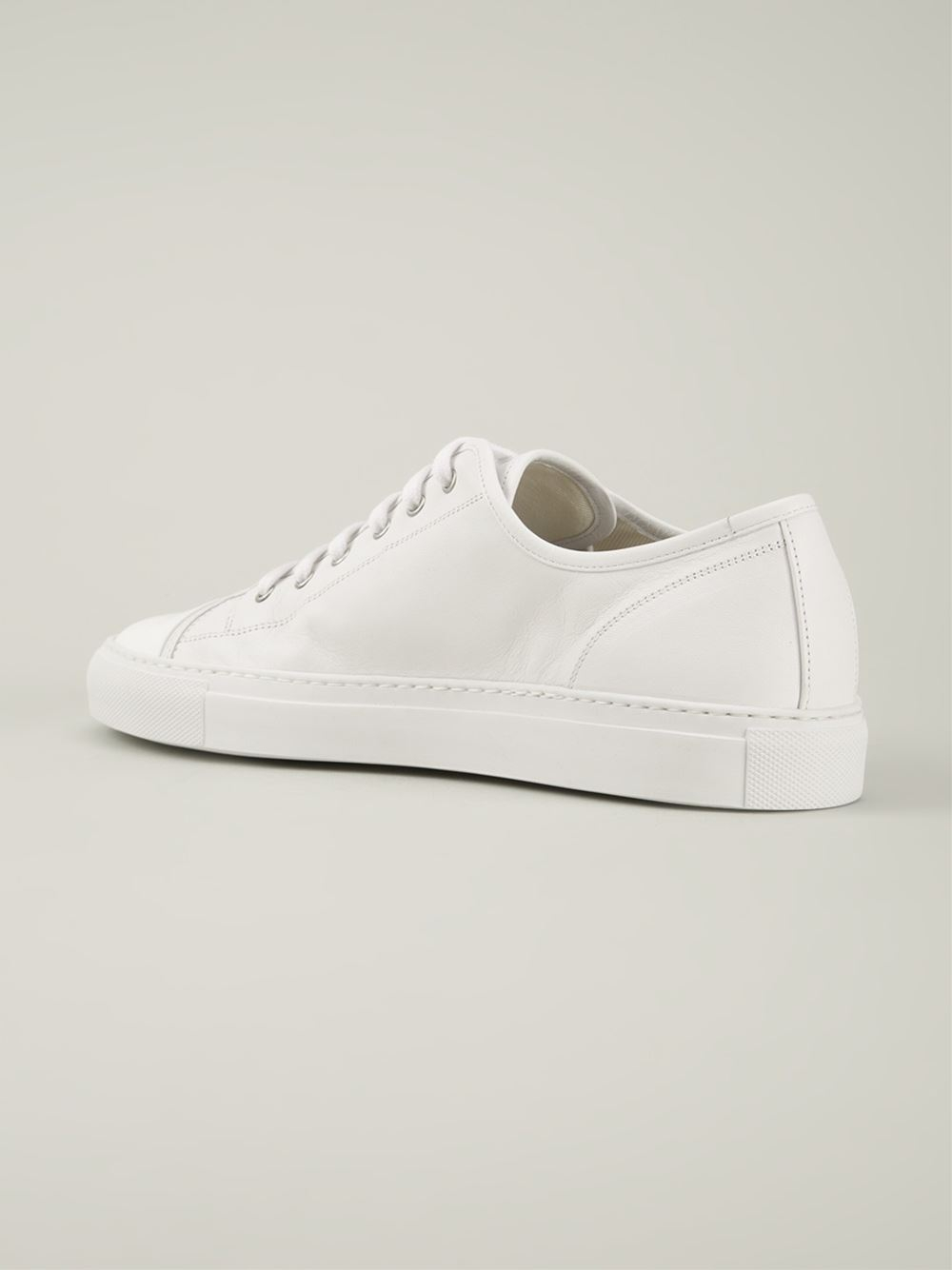 Lyst - Common Projects Lace-Up Sneakers in White for Men