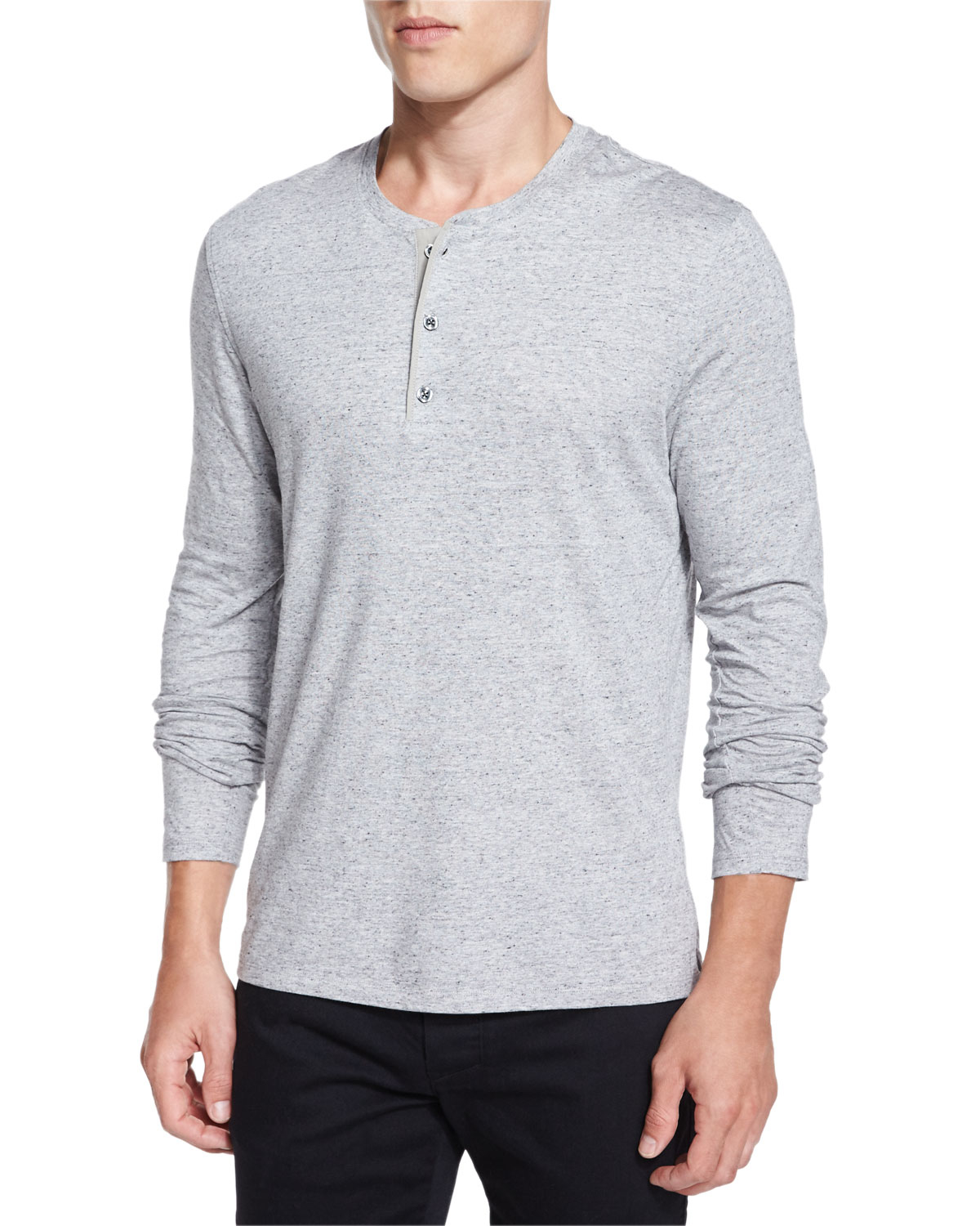 Shop from the world's largest selection and best deals for Long Sleeve Henley T-Shirts for Men. Free delivery and free returns on eBay Plus items.