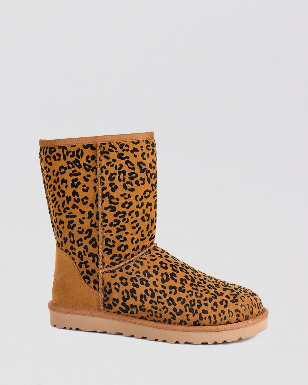 ugg leopard print slippers
