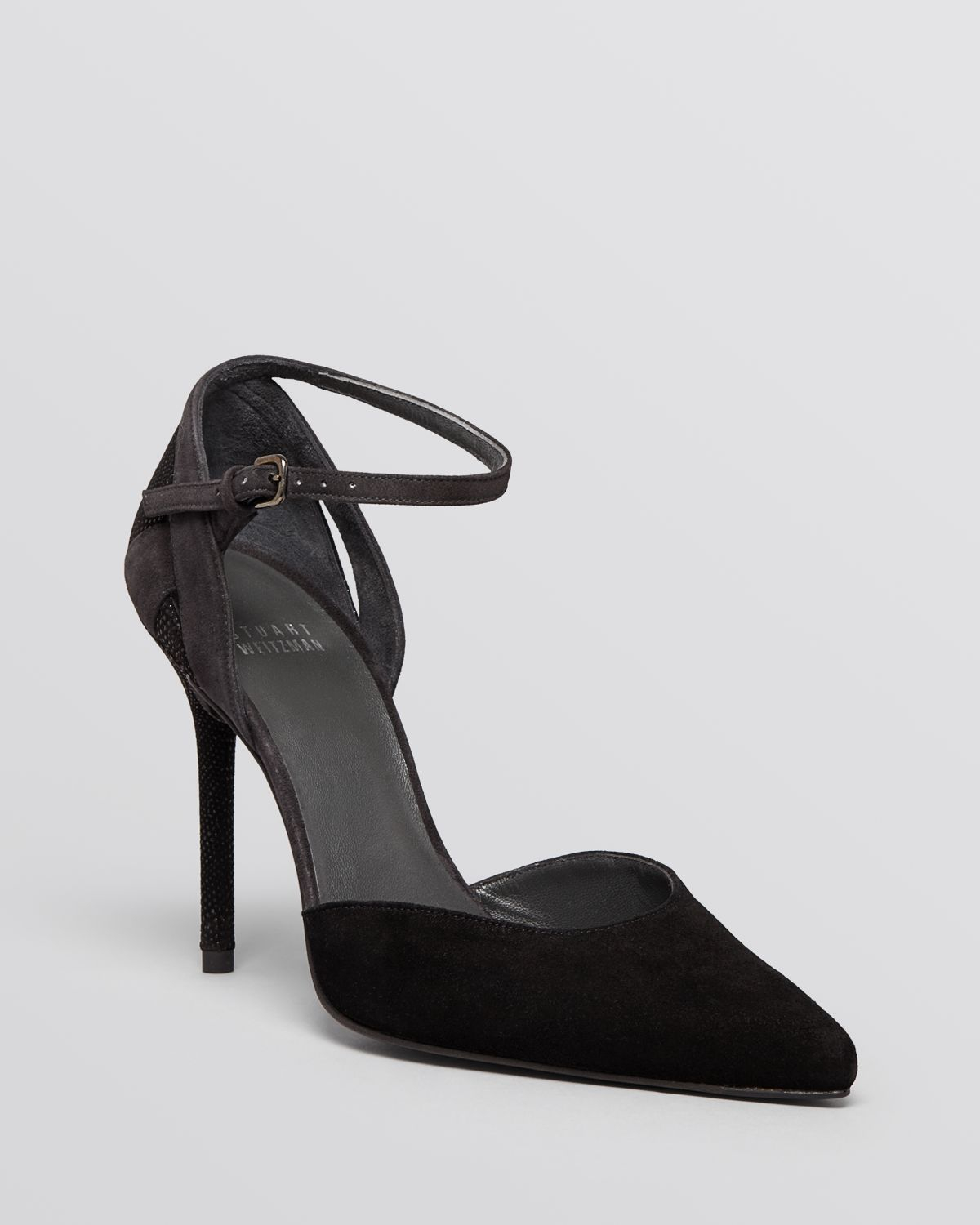01f31fbad01 Stuart Weitzman Pointed Toe D'Orsay Ankle Strap Pumps - Xfactor High ...