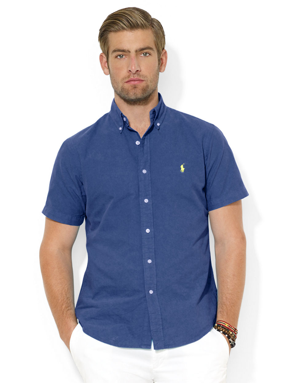 Polo Ralph Lauren Classic Fit Short Sleeved Oxford