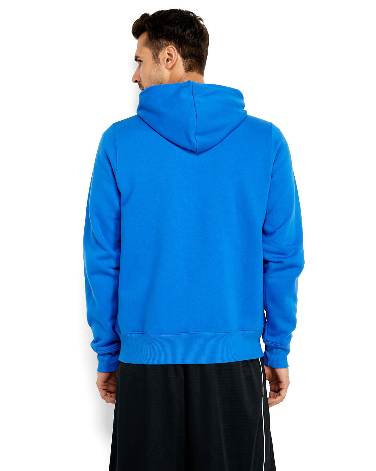 new balance full zip hoodie in blue for men lyst. Black Bedroom Furniture Sets. Home Design Ideas