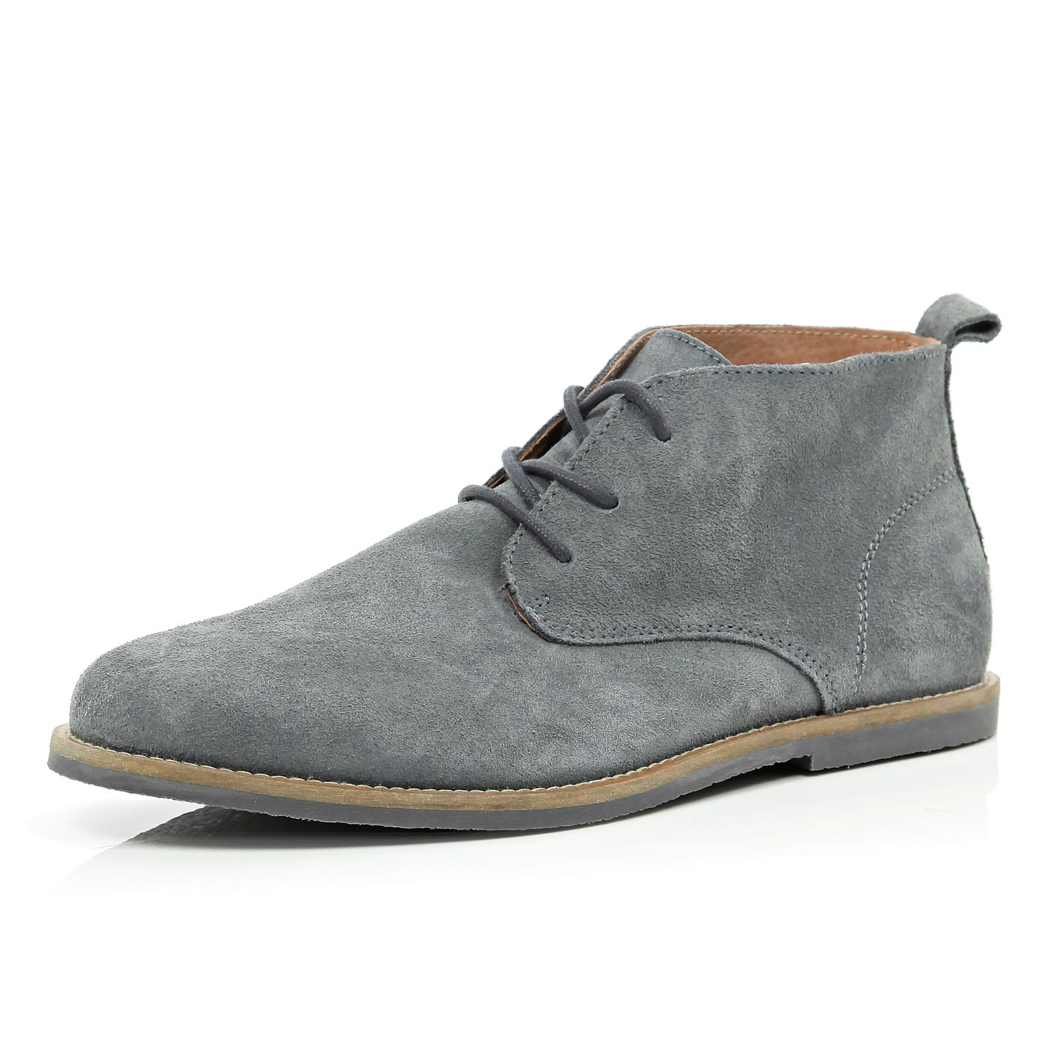 Grey Boots Mens - Boot Hto