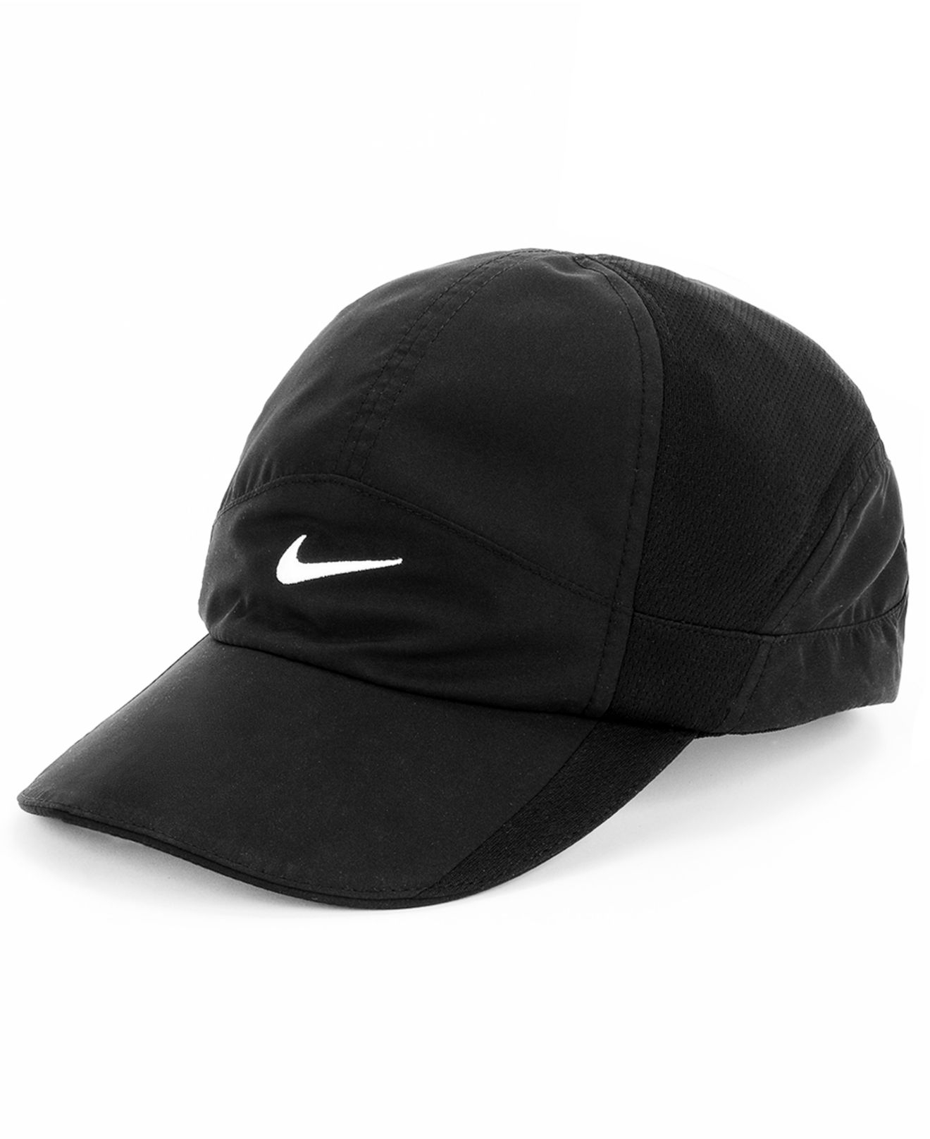 Lyst - Nike Featherlight 2.0 Dri-Fit Sports Cap in Black 4e638e64d8c