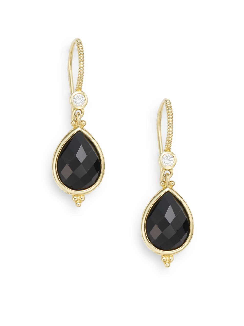 judith ripka la 18k yellow gold black onyx