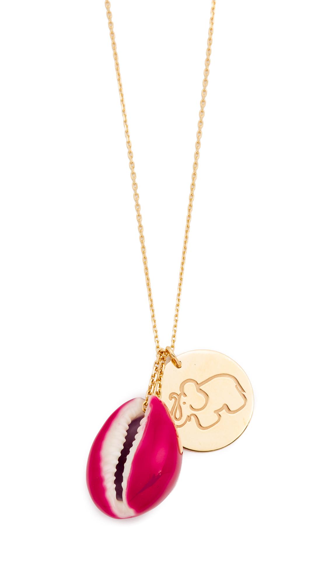Ladybug Pendant Necklace Aur GREWcNfG4B