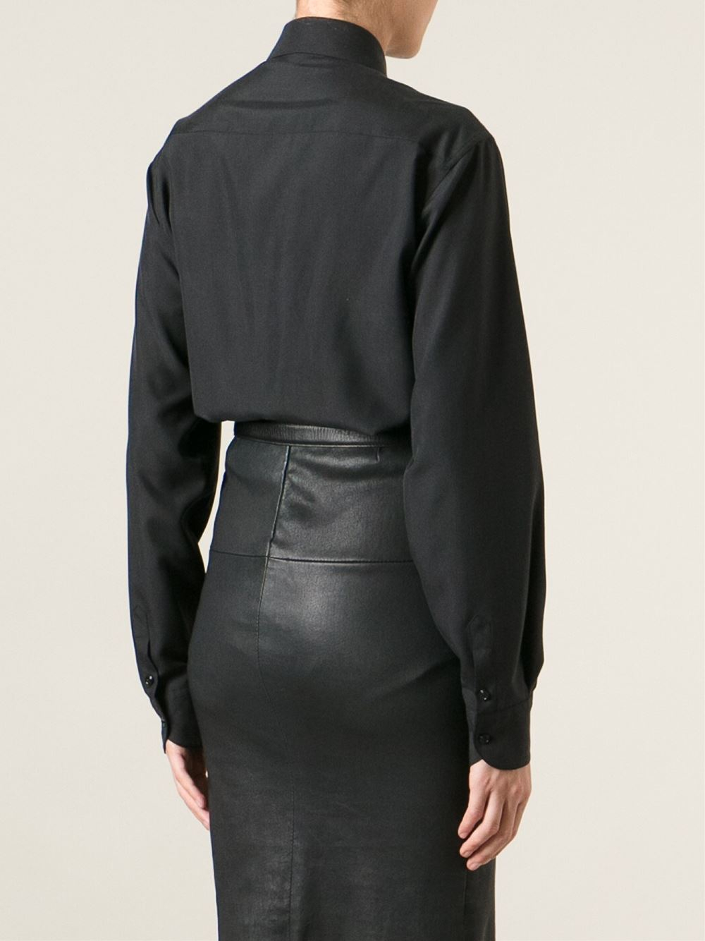 Lyst Tom Ford Button Down Shirt In Black