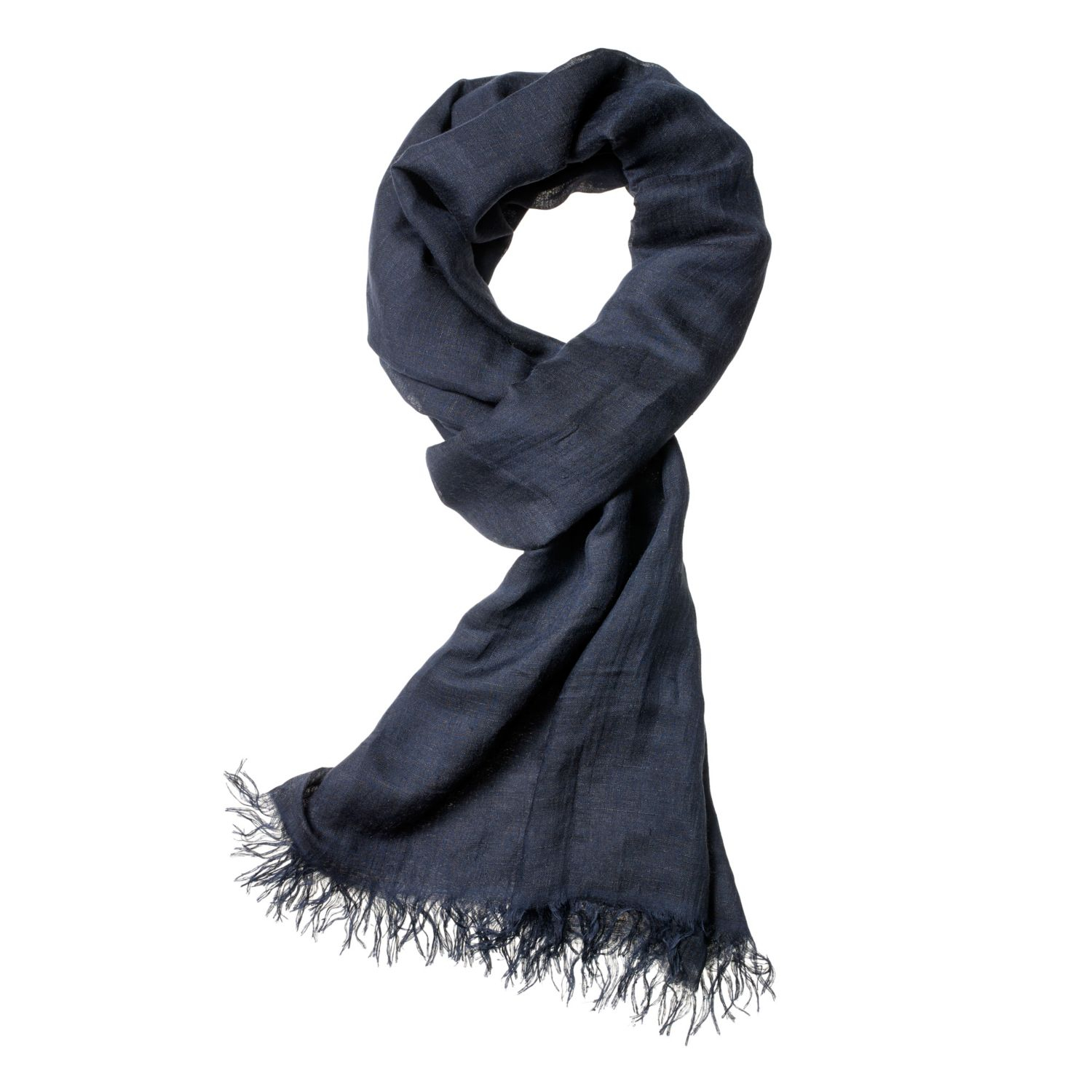 theory novelty scarf in modal in blue navy lyst