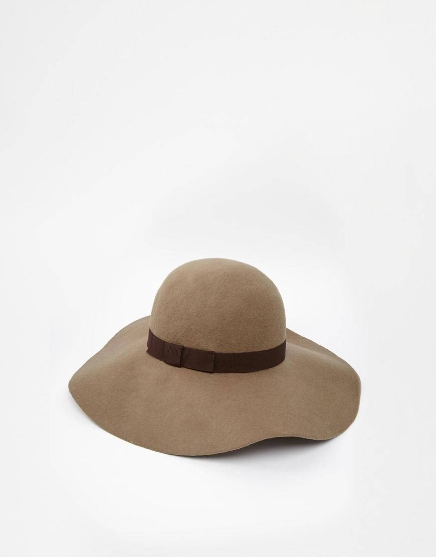 Lyst Catarzi Floppy Hat In Khaki In Natural