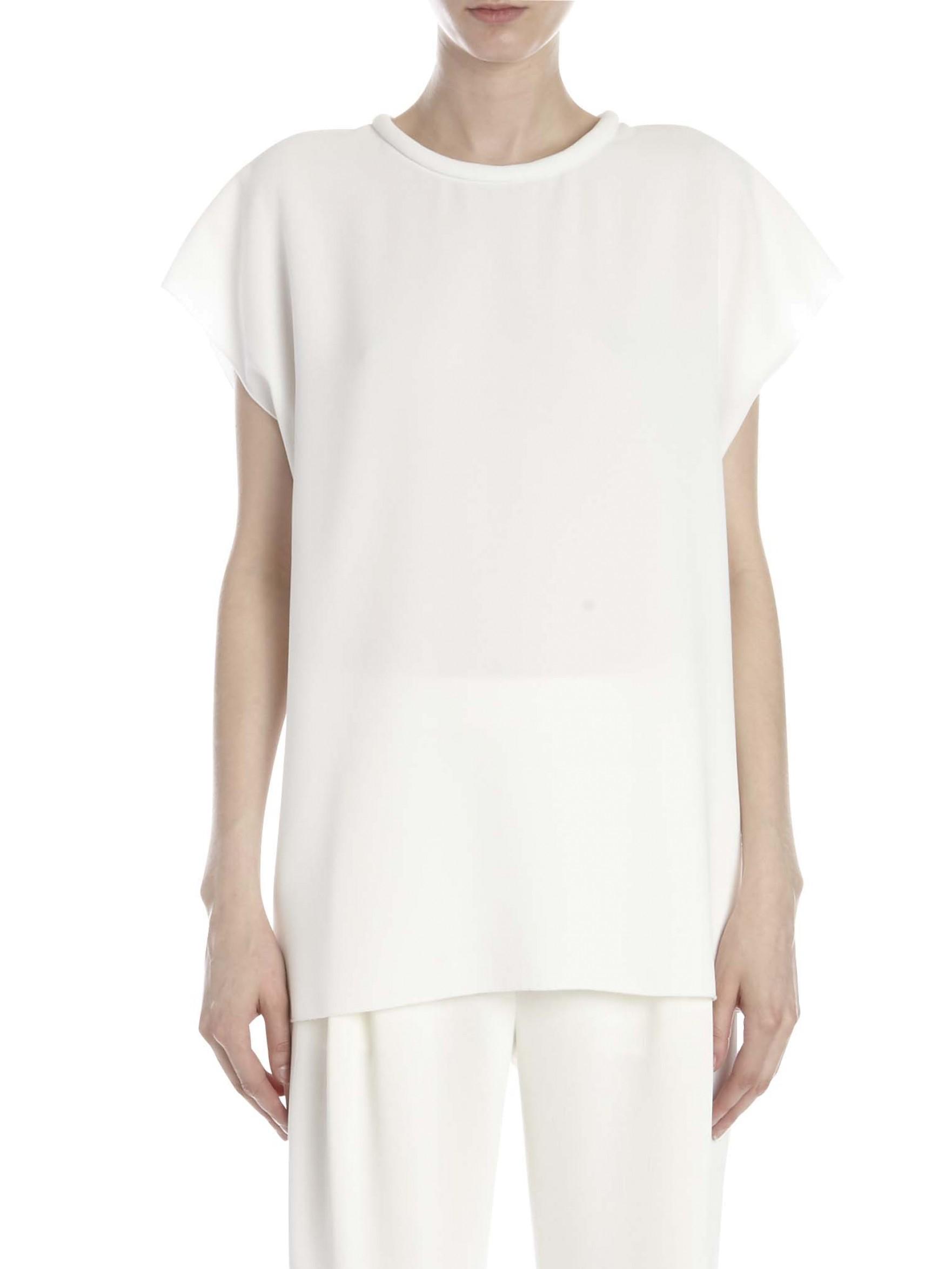 Nicholas Roll Neck T Shirt In White Lyst