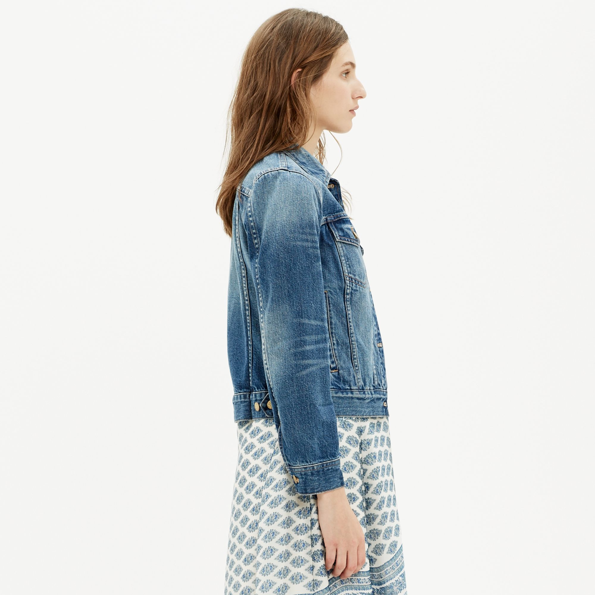 Madewell The Jean Jacket in Blue | Lyst