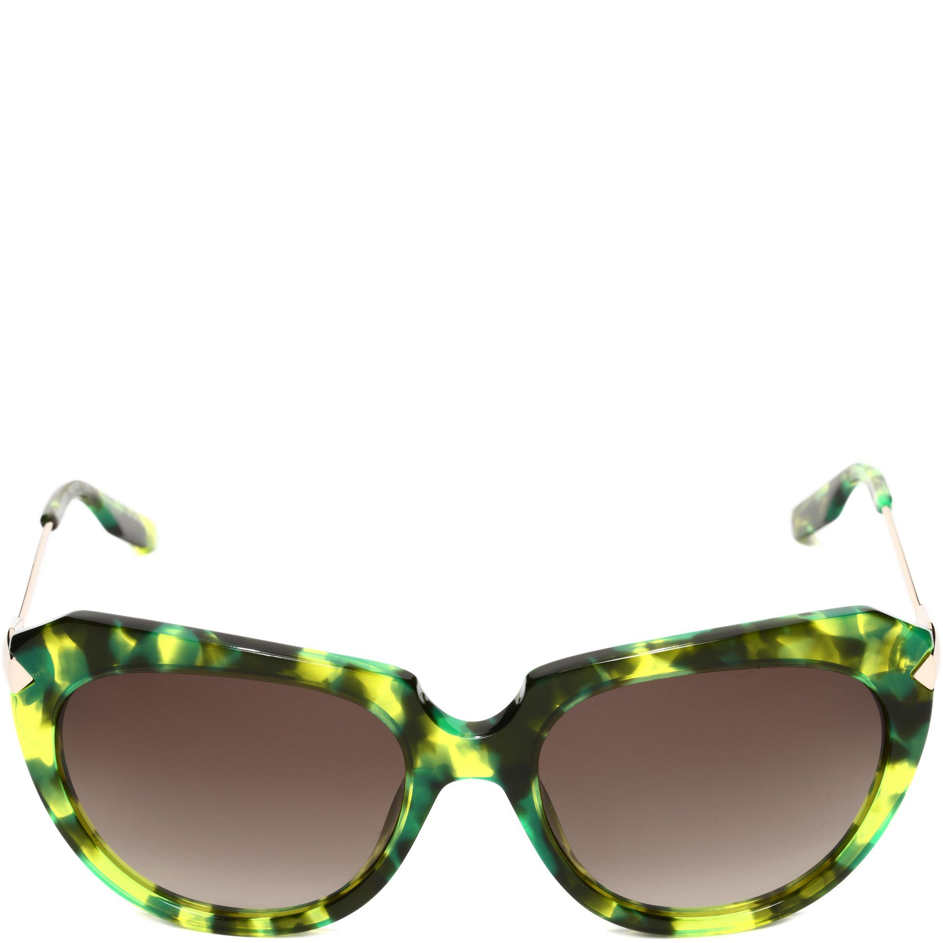 85bc8dbef1c6 McQ Stealth Havana Sunglasses in Green - Lyst