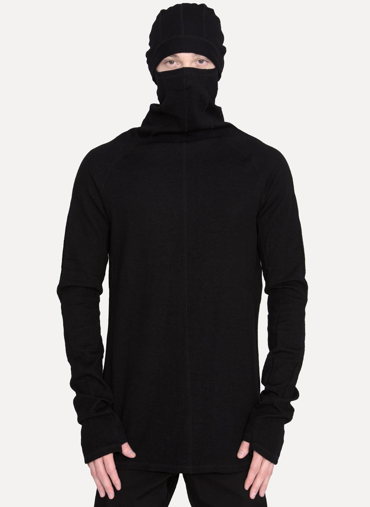 Black ninja hoodie