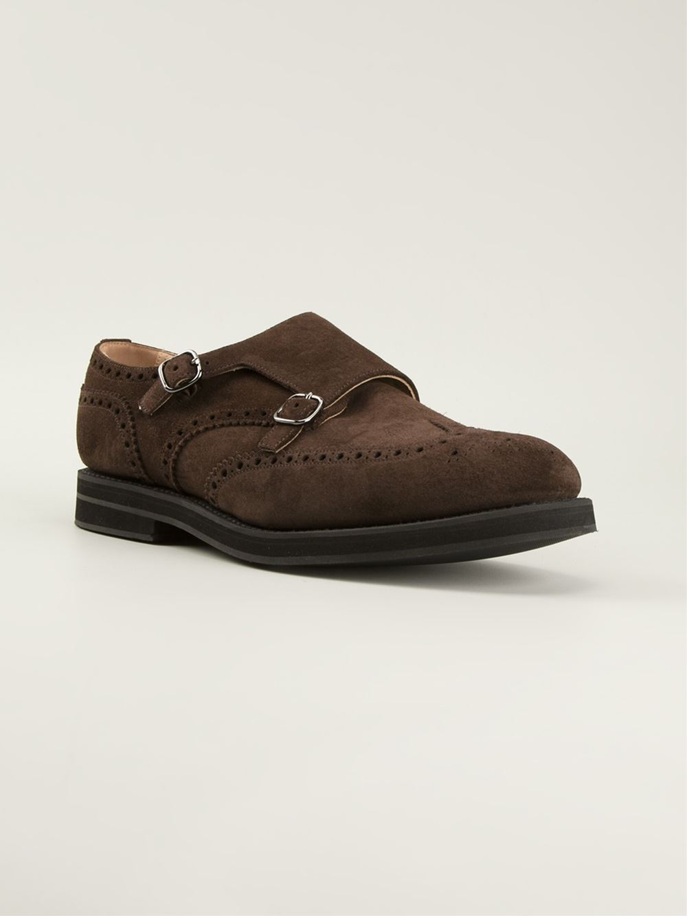 Lyst - Church S  Kelby  Monk Shoes in Brown for Men c7575586b13