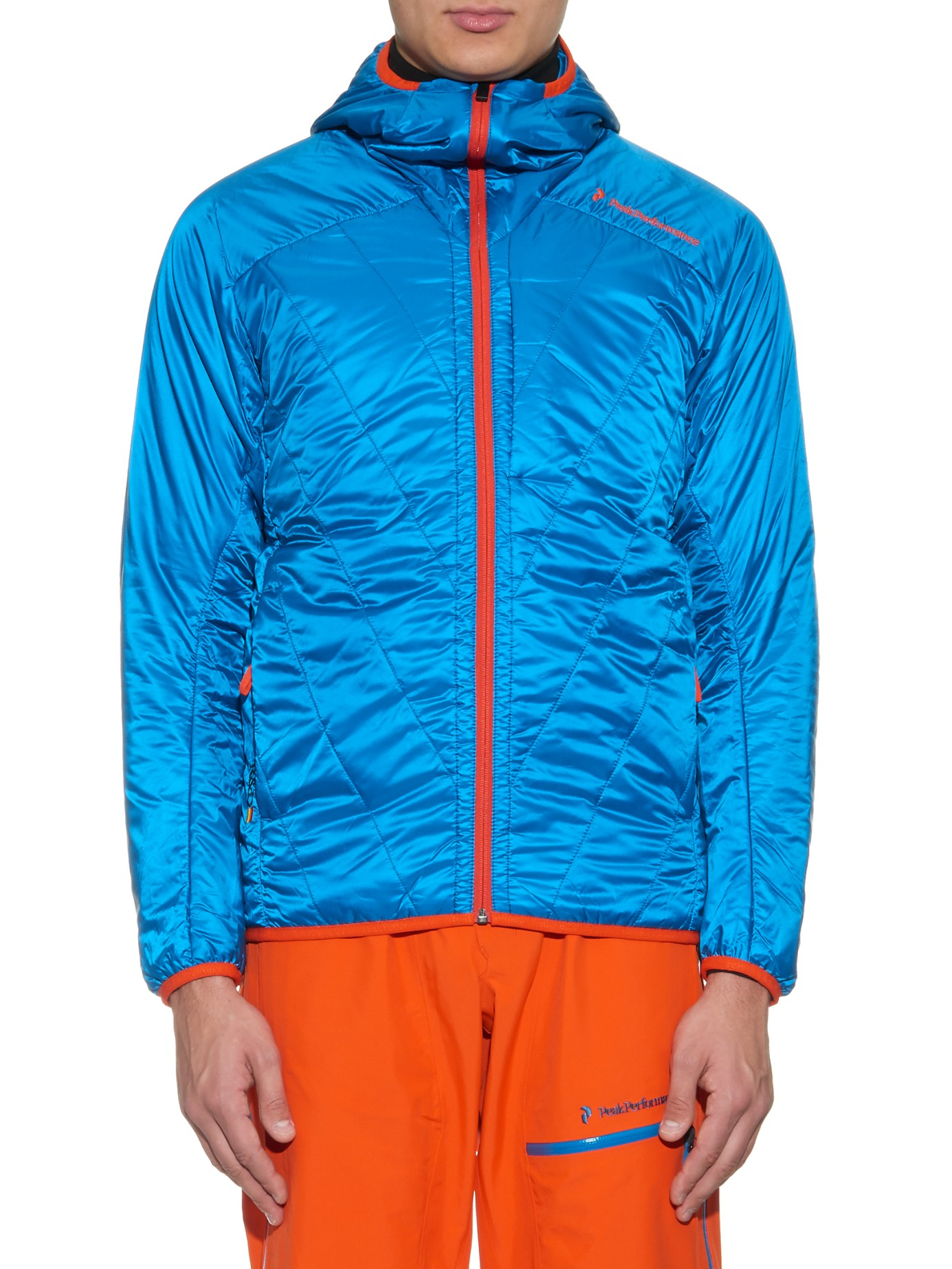 6f5271f6d3abc4 Lyst - Peak Performance Heli Liner Technical Ski Jackets in Blue for Men