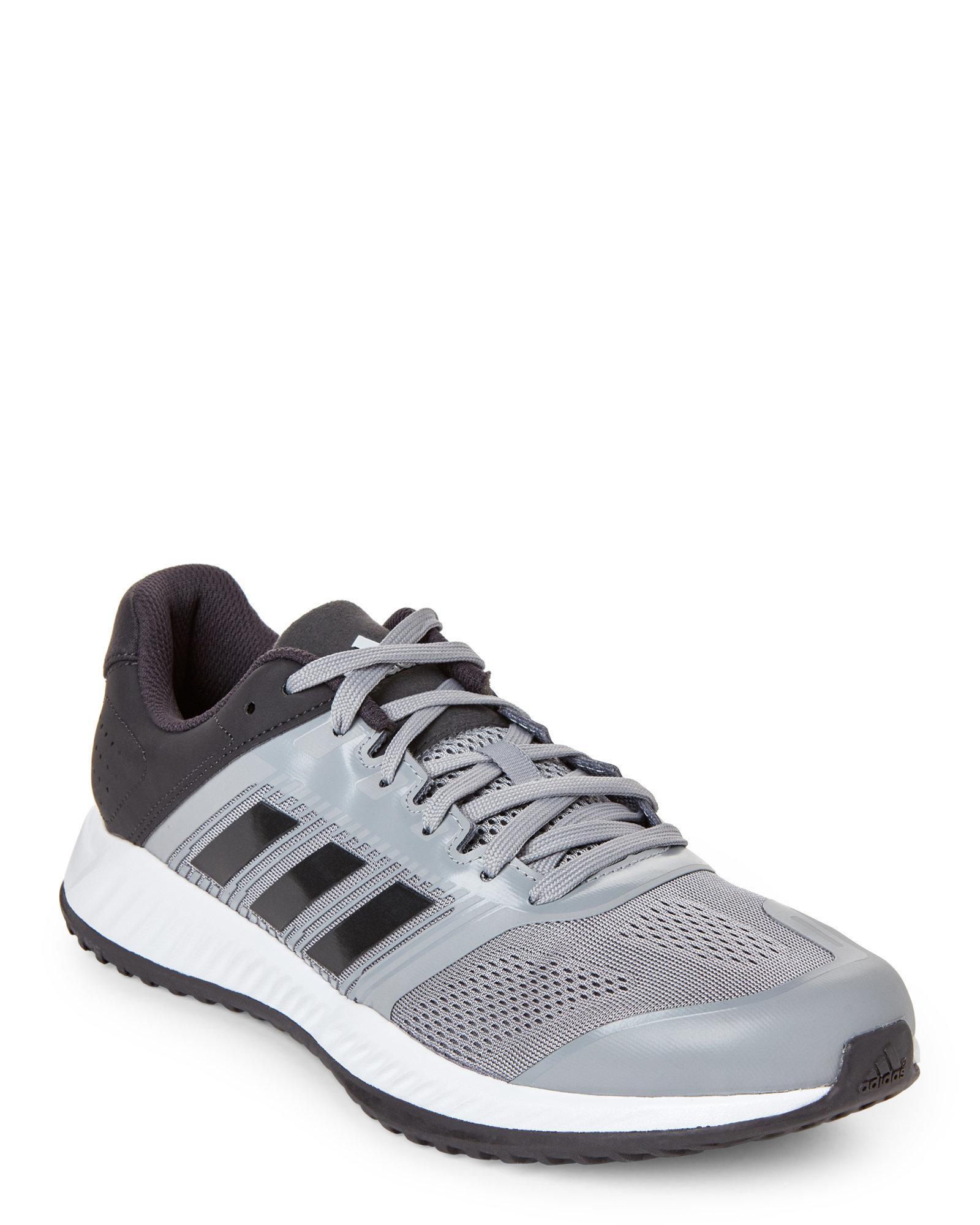 lyst adidas grey zg formazione scarpe in grigio per gli uomini.