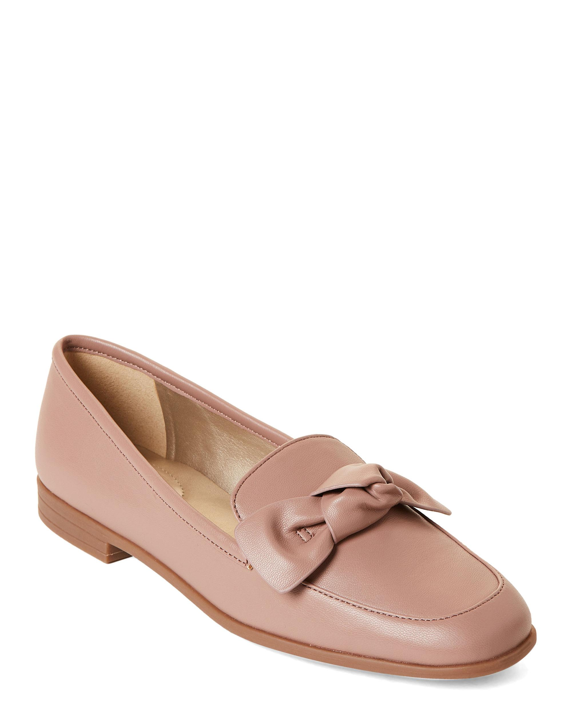 1e66d3967b4 Lyst - Bandolino Rose Bow Loafers in Pink