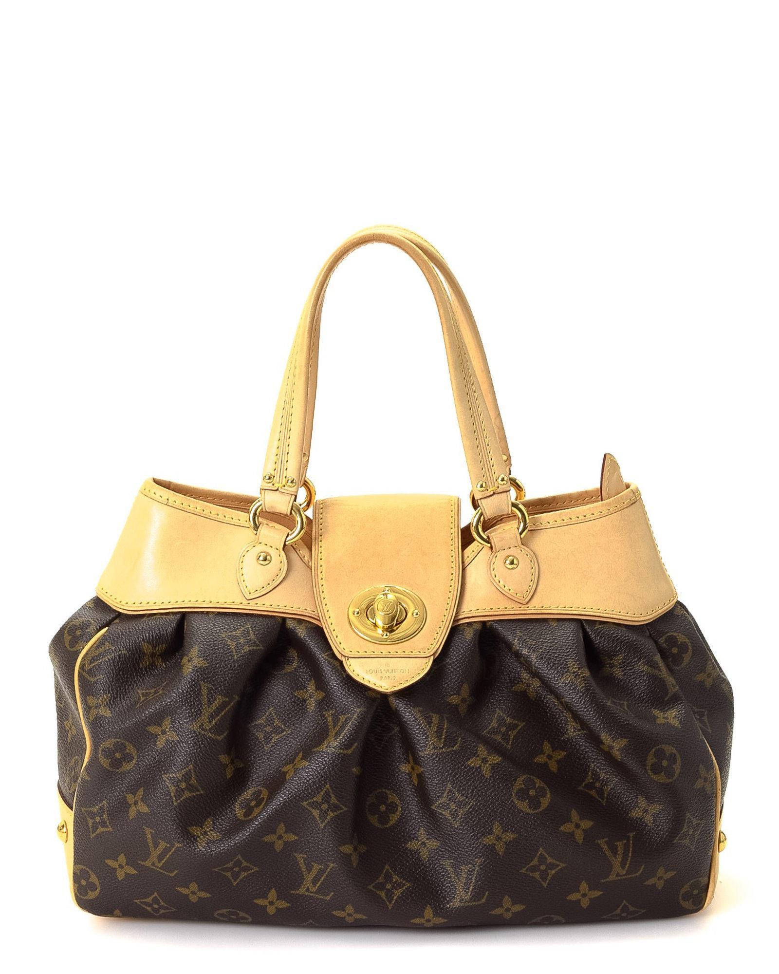 5f86b3469b Lyst - Louis Vuitton Boetie Pm Handbag - Vintage in Brown