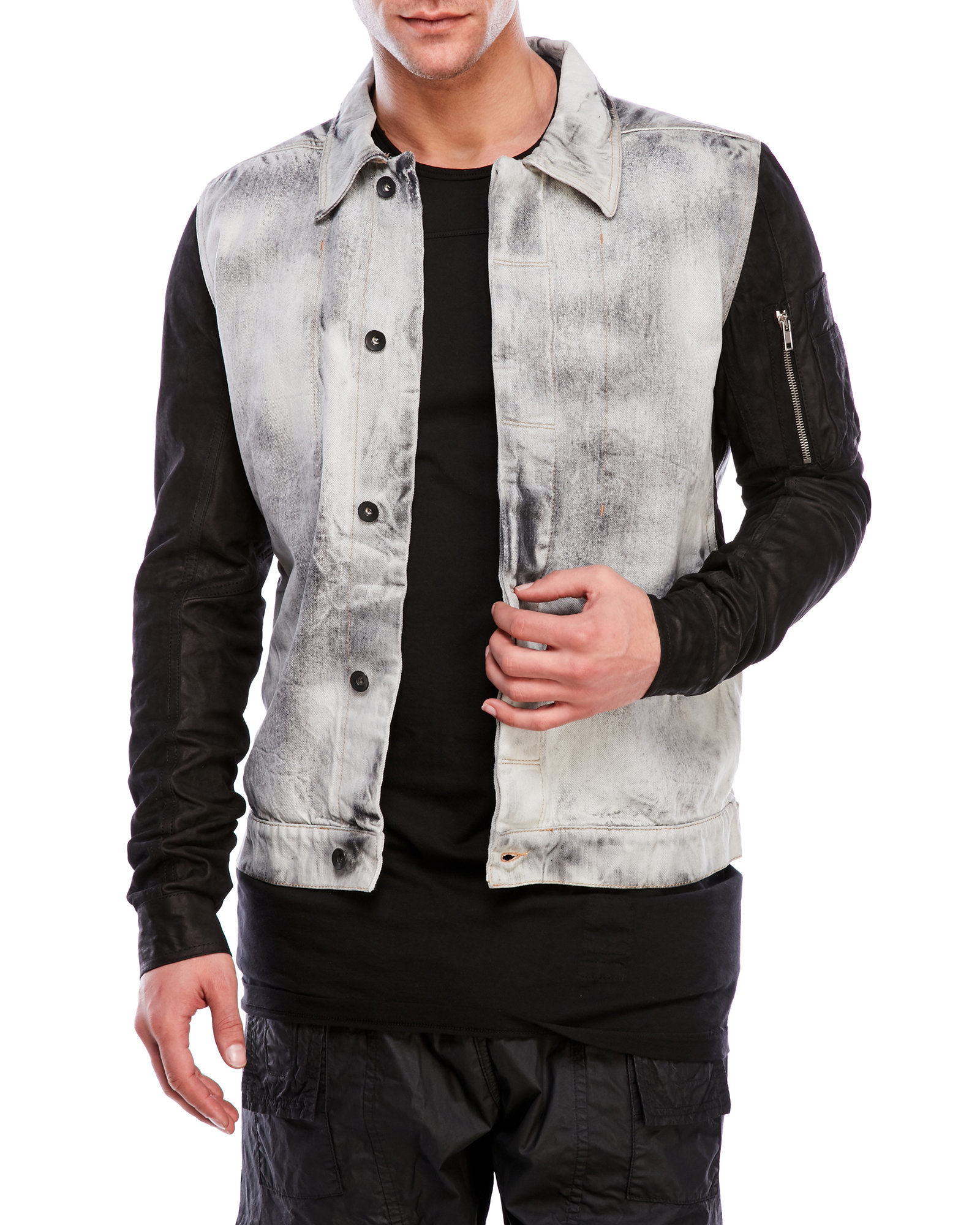 6e84c971213 Gallery. Previously sold at  Century 21 · Men s Embroidered Denim Jackets  ...