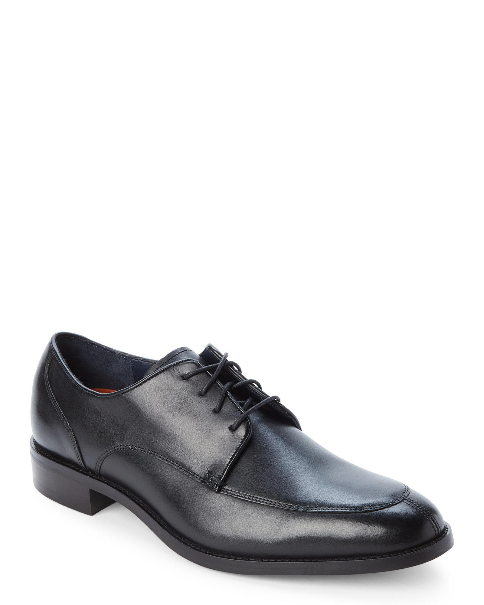 45a9af0088da62 Lyst - Cole Haan Black Lenox Hill Split Toe Oxfords in Black for Men