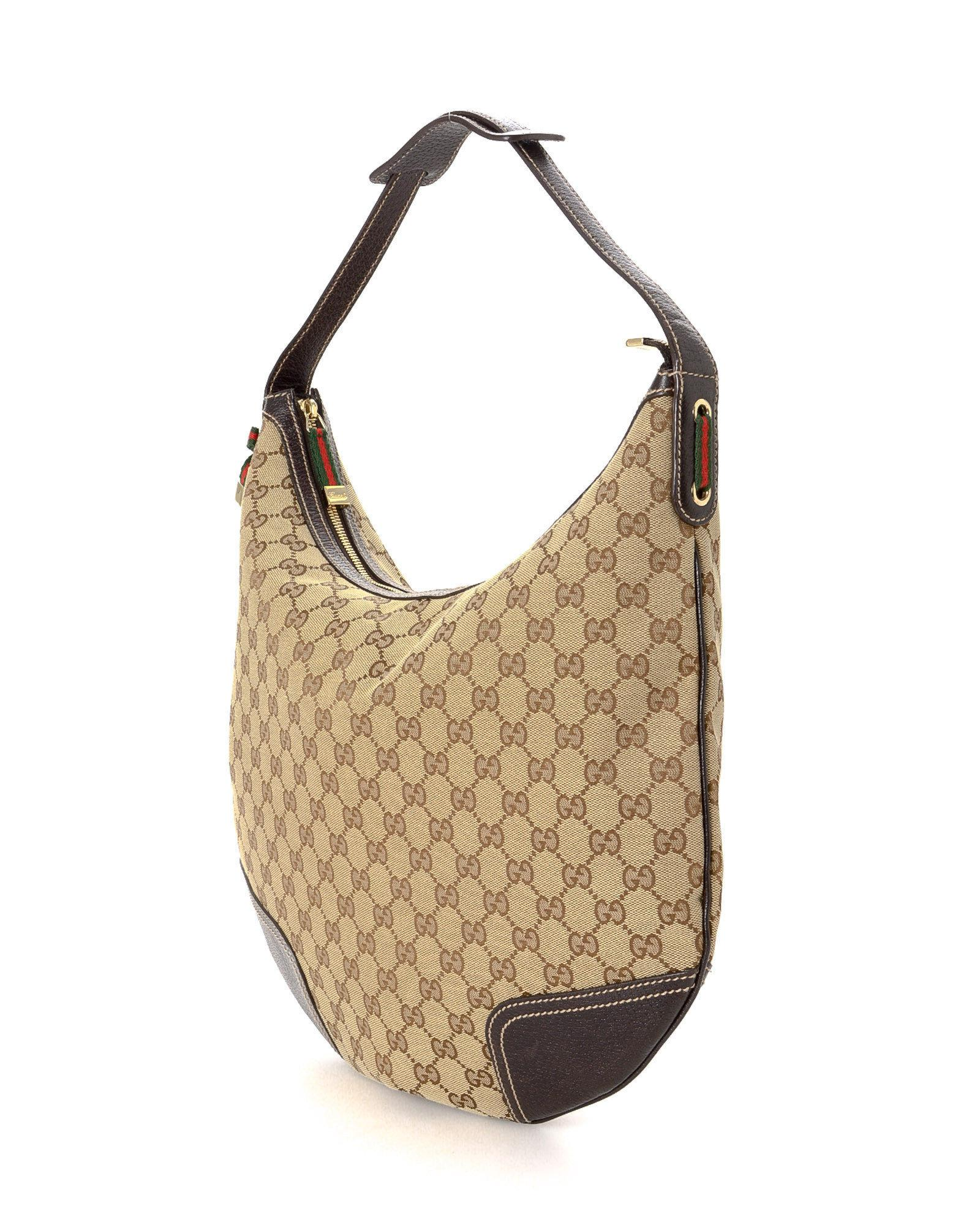 7731f75a4fd Lyst - Gucci Princy Hobo Bag - Vintage in Natural