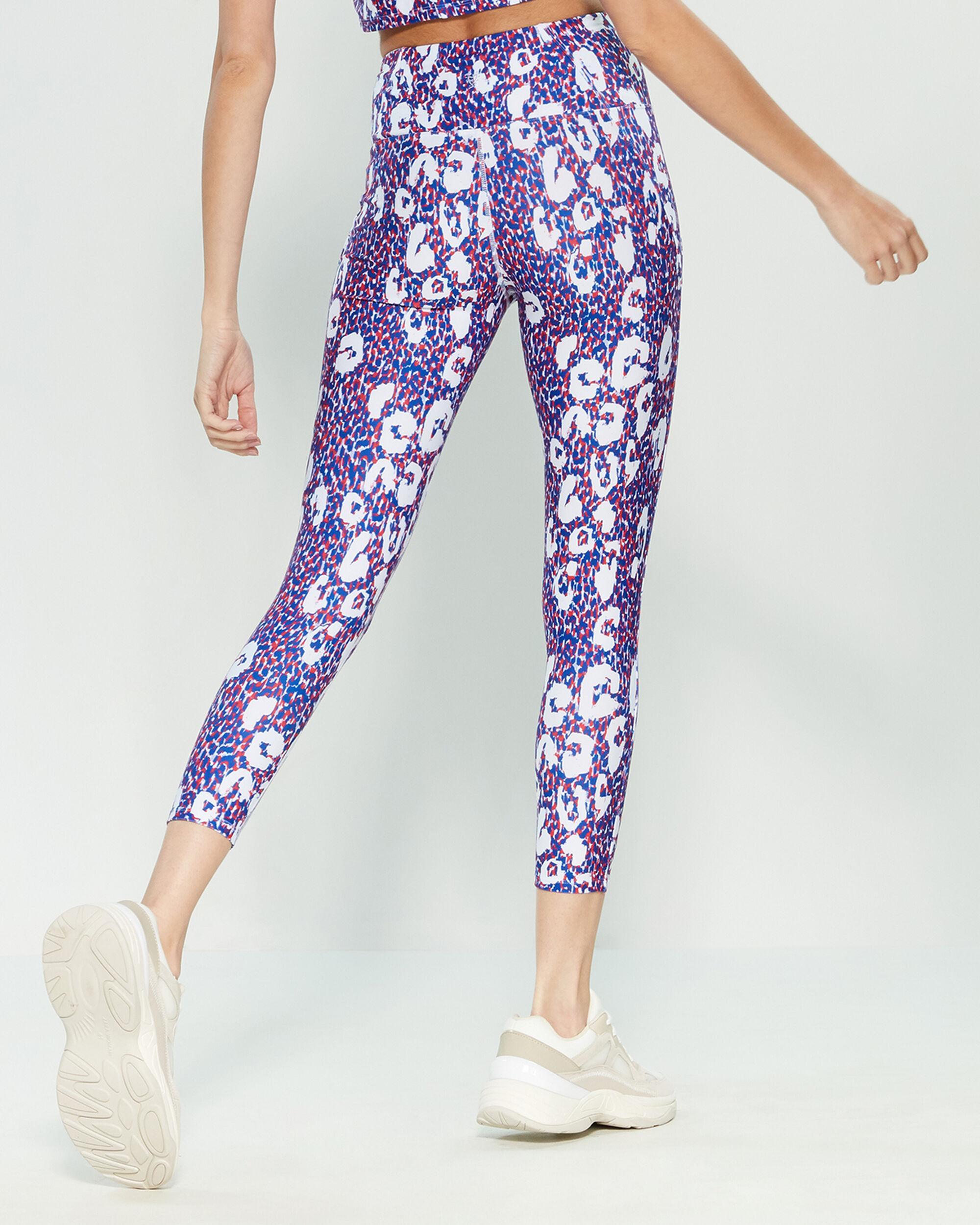 0c1dae319fe5 Betsey Johnson Speckled Leopard Leggings in Purple - Lyst