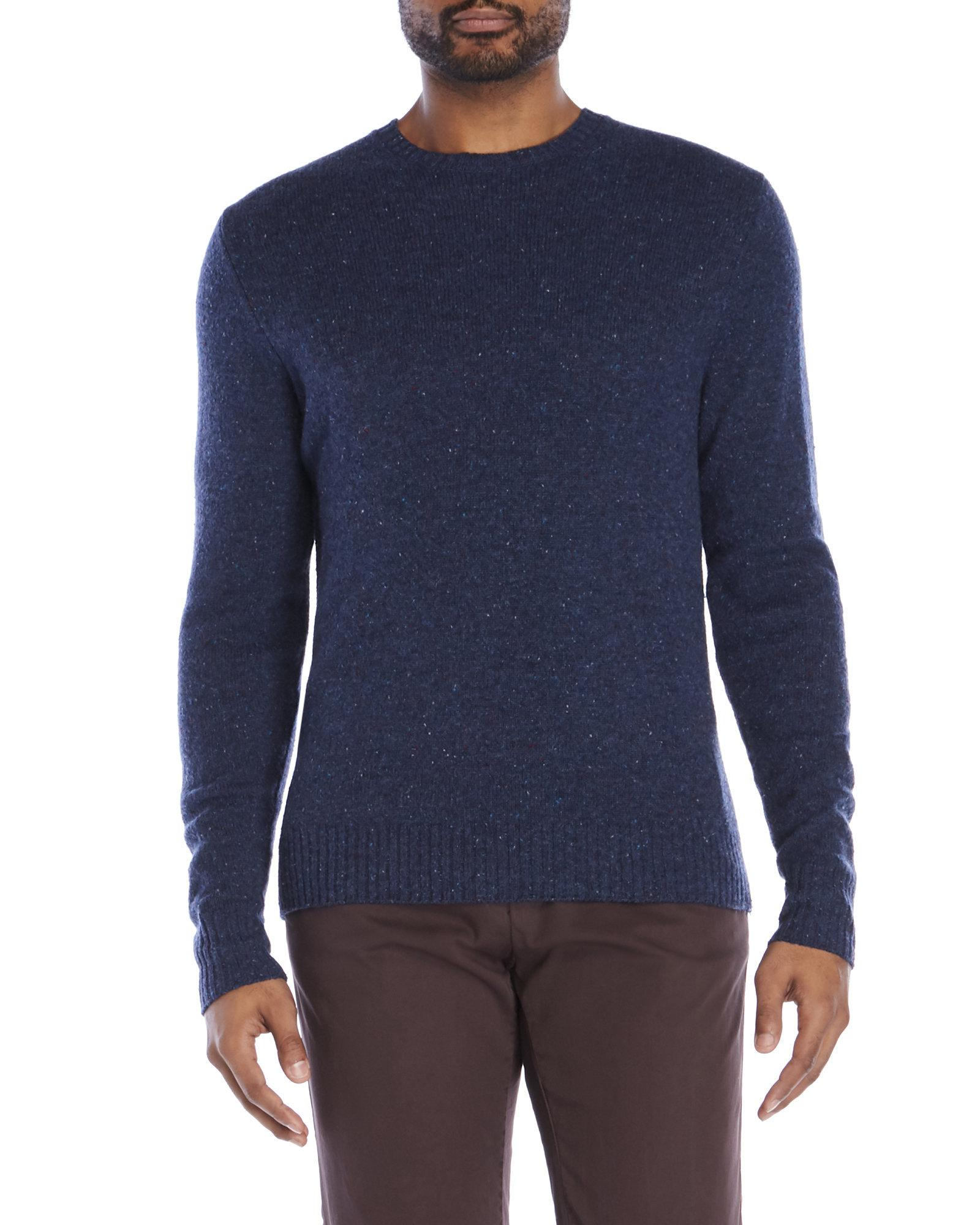 Alex mill New England Donegal Wool Sweater in Blue for Men | Lyst