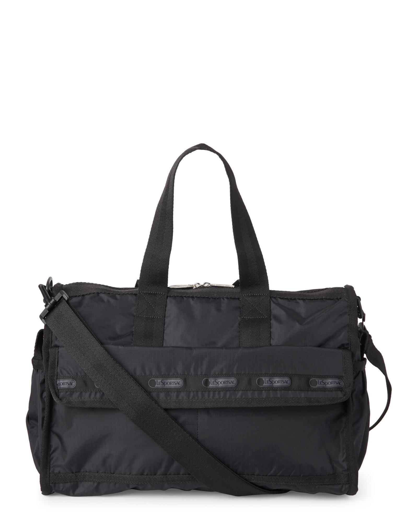 lesportsac black nylon travel baby bag in black lyst. Black Bedroom Furniture Sets. Home Design Ideas