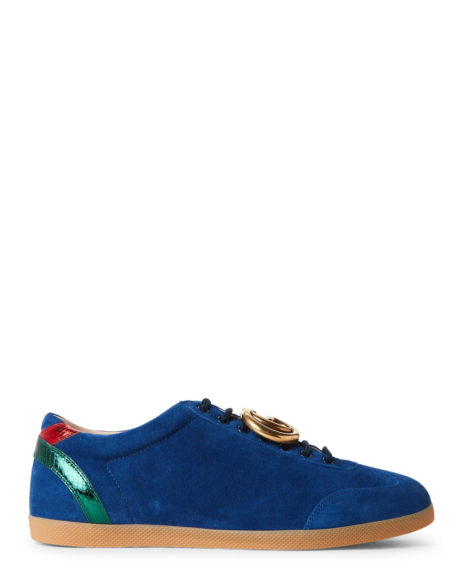 7914c827cdb Lyst - Gucci Royale   Red Softy Tek Sneakers in Blue for Men