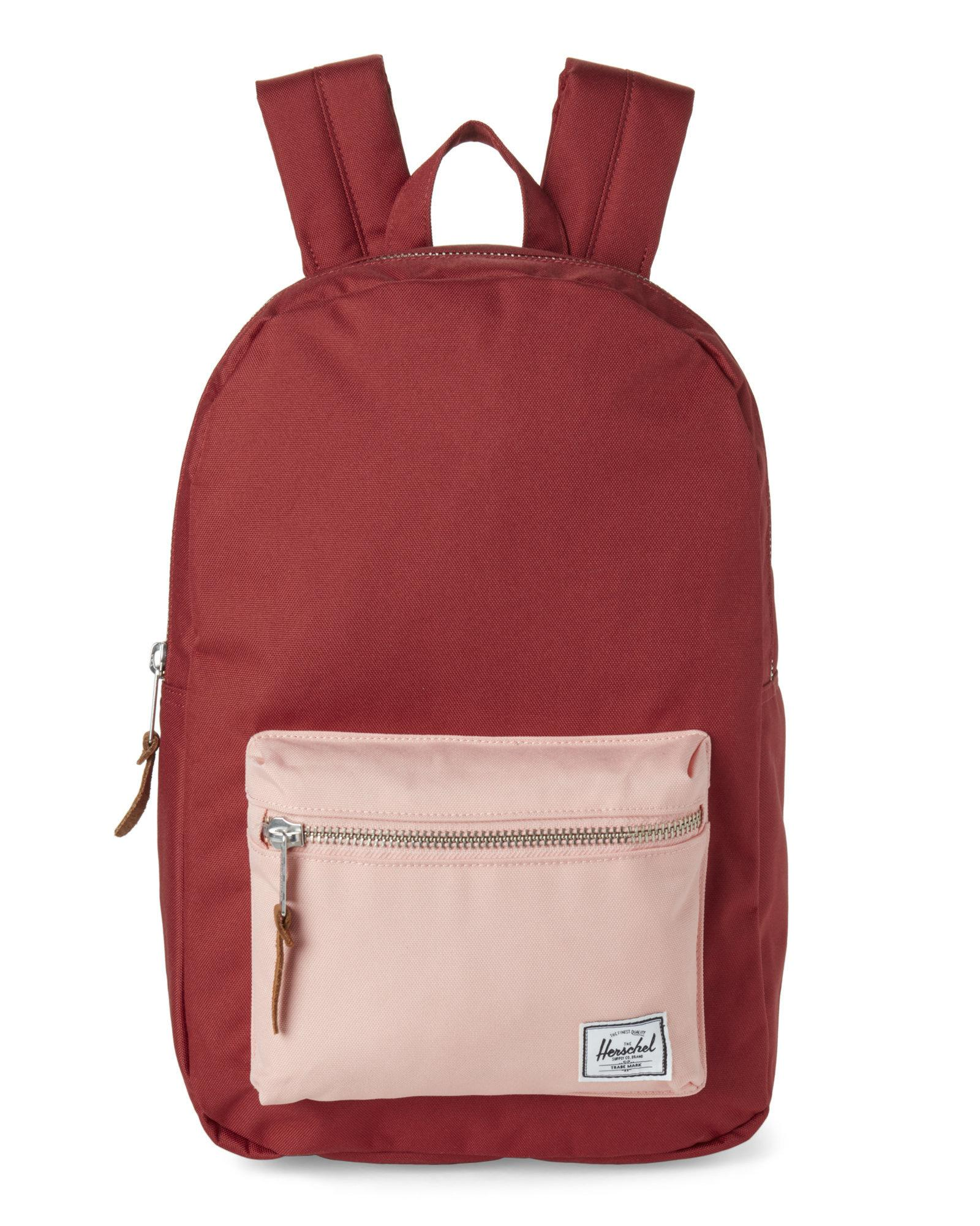 Lyst - Herschel Supply Co. Brick Peach Settlement Mid Backpack in Red cb5eedde12970