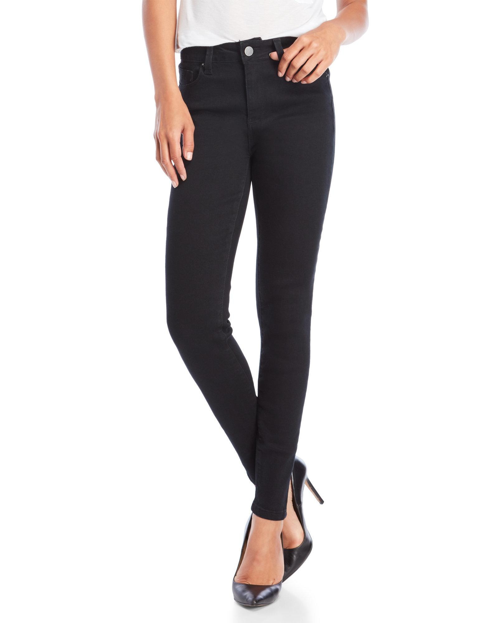 941b1b2dae YMI No Muffin Top High-Rise Skinny Jeans in Black - Lyst
