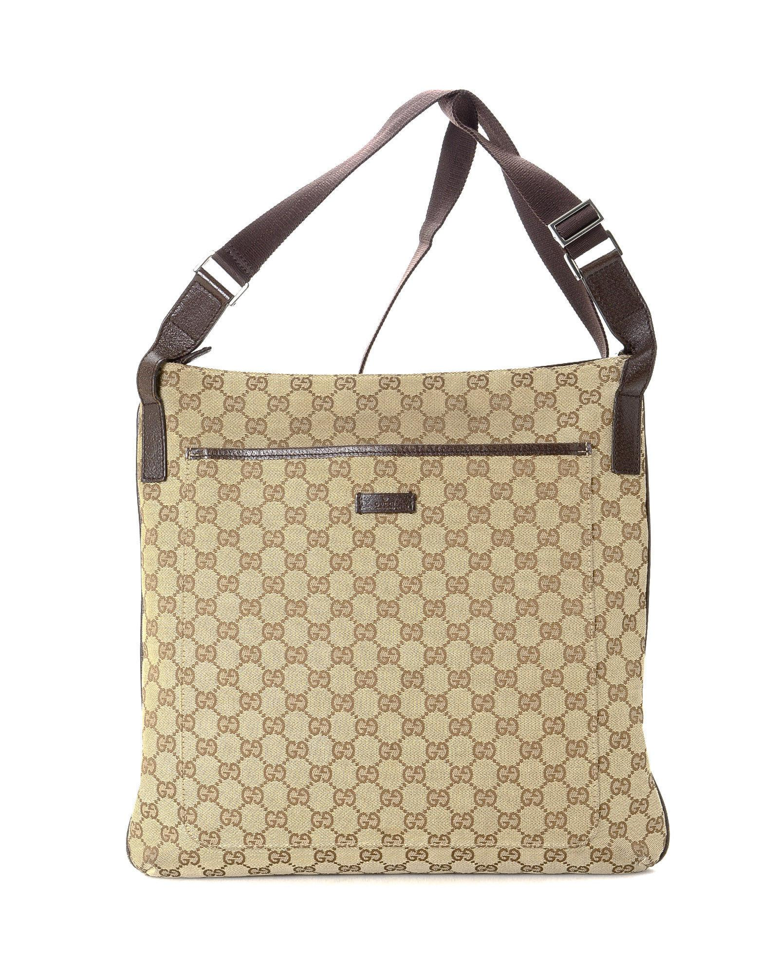 1a73425b7 Gucci Crossbody Bag - Vintage in Natural - Lyst