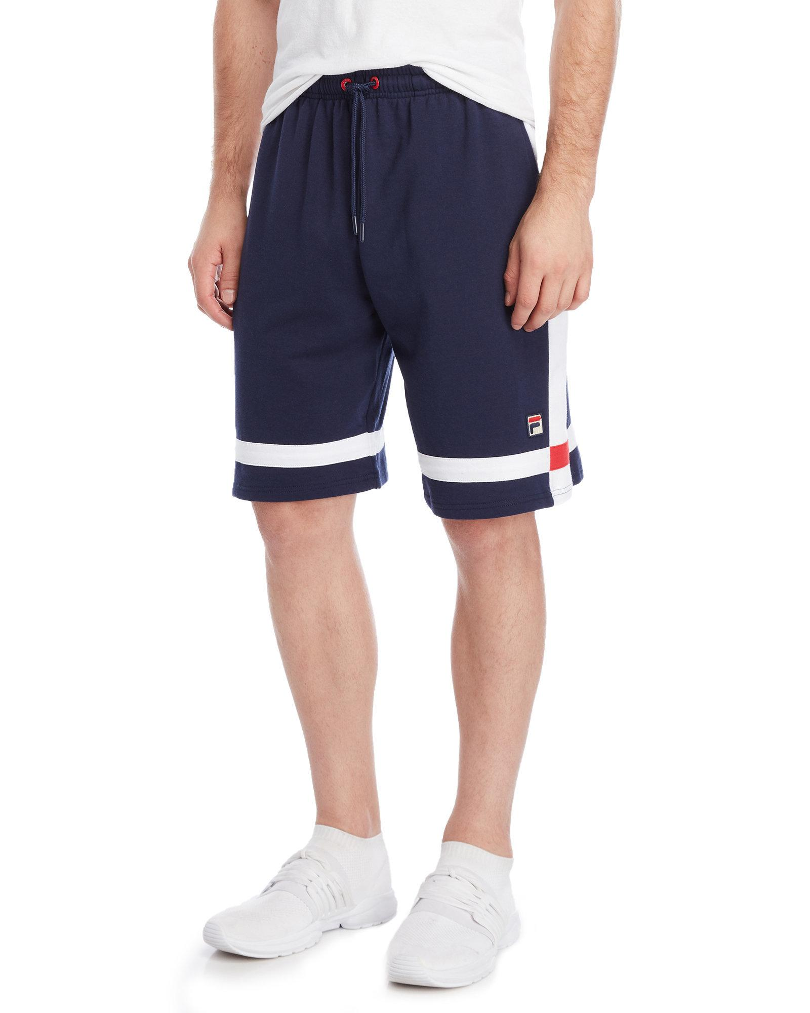 3f2ac8bfb9f4 Lyst - Fila Craig Stripe Shorts in Blue for Men