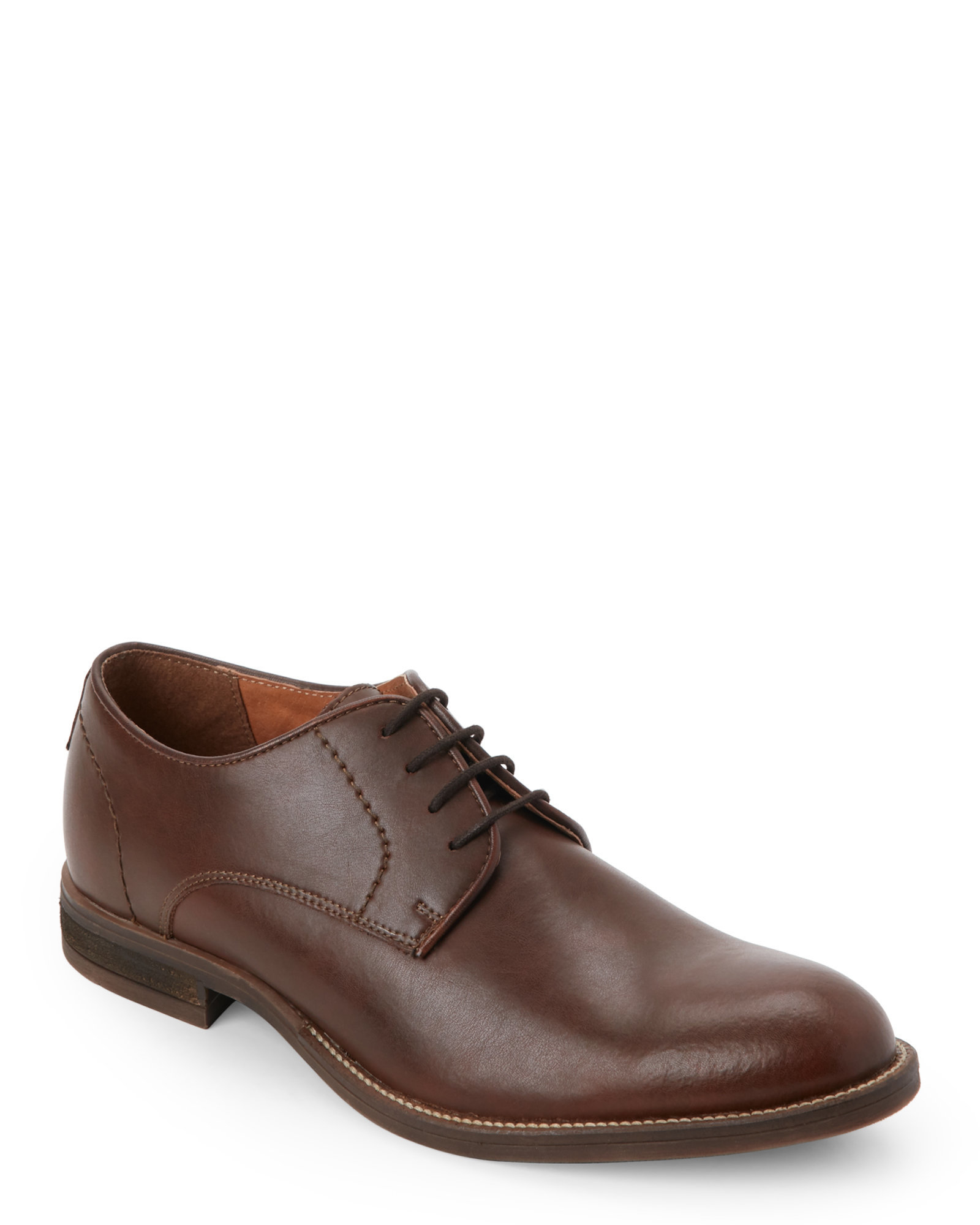 joseph abboud brown wesley plain toe oxfords in brown for