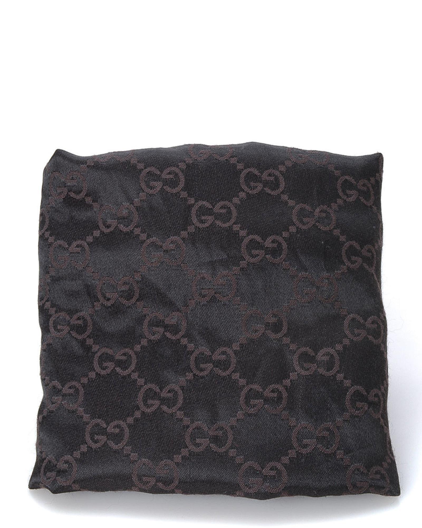 df4dbb2580 Lyst - Gucci Canvas Tote Bag - Vintage in Black