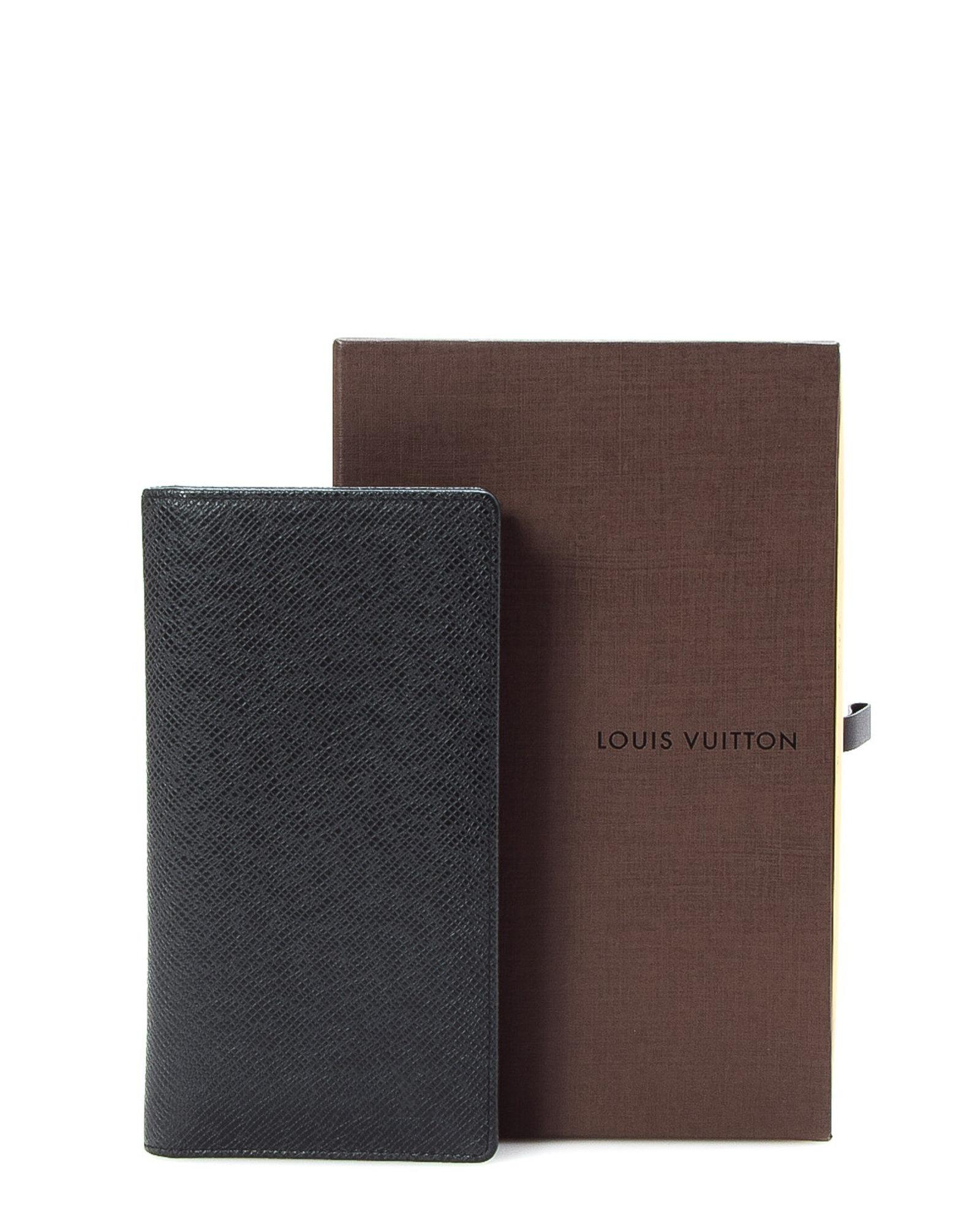 7bcb5694898a Lyst - Louis Vuitton Porte Valeurs Organi Lv Taiga Wallet - Vintage ...