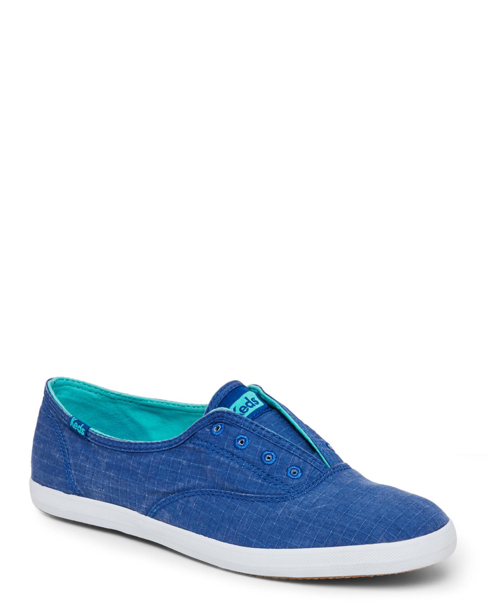 Keds Leather Slip On Shoes