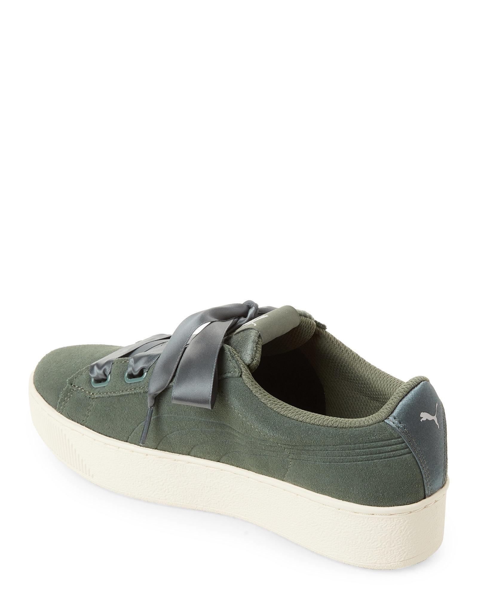 82ff9c73a9f PUMA - Multicolor Laurel Wreath Vikky Platform Sneakers - Lyst. View  fullscreen