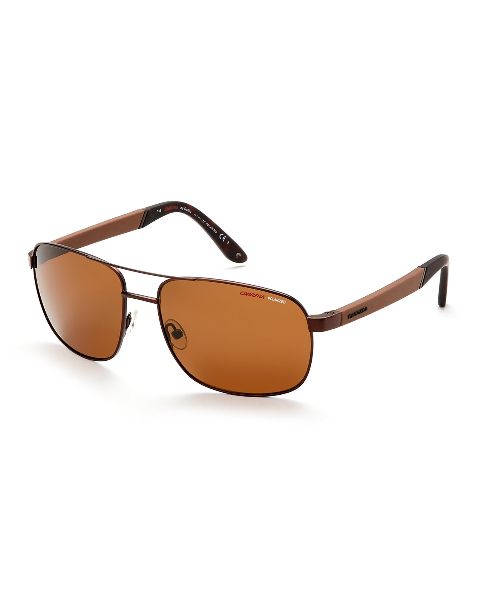 588d014b2b Lyst - Carrera Bronze-Tone   Black 8005 S Navigator Sunglasses in ...