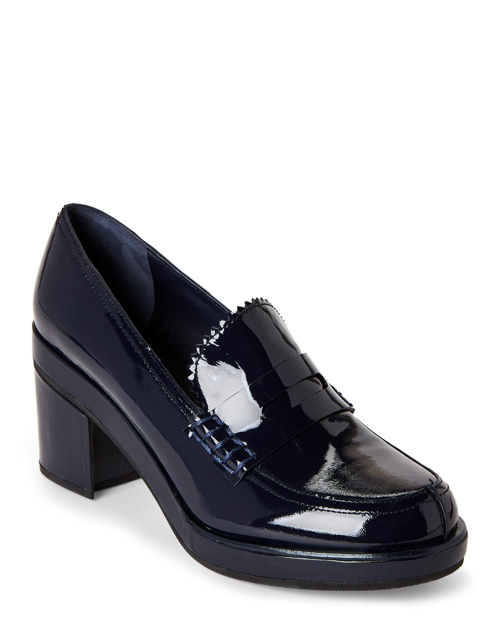 Jil Sander Leather Penny Loafers