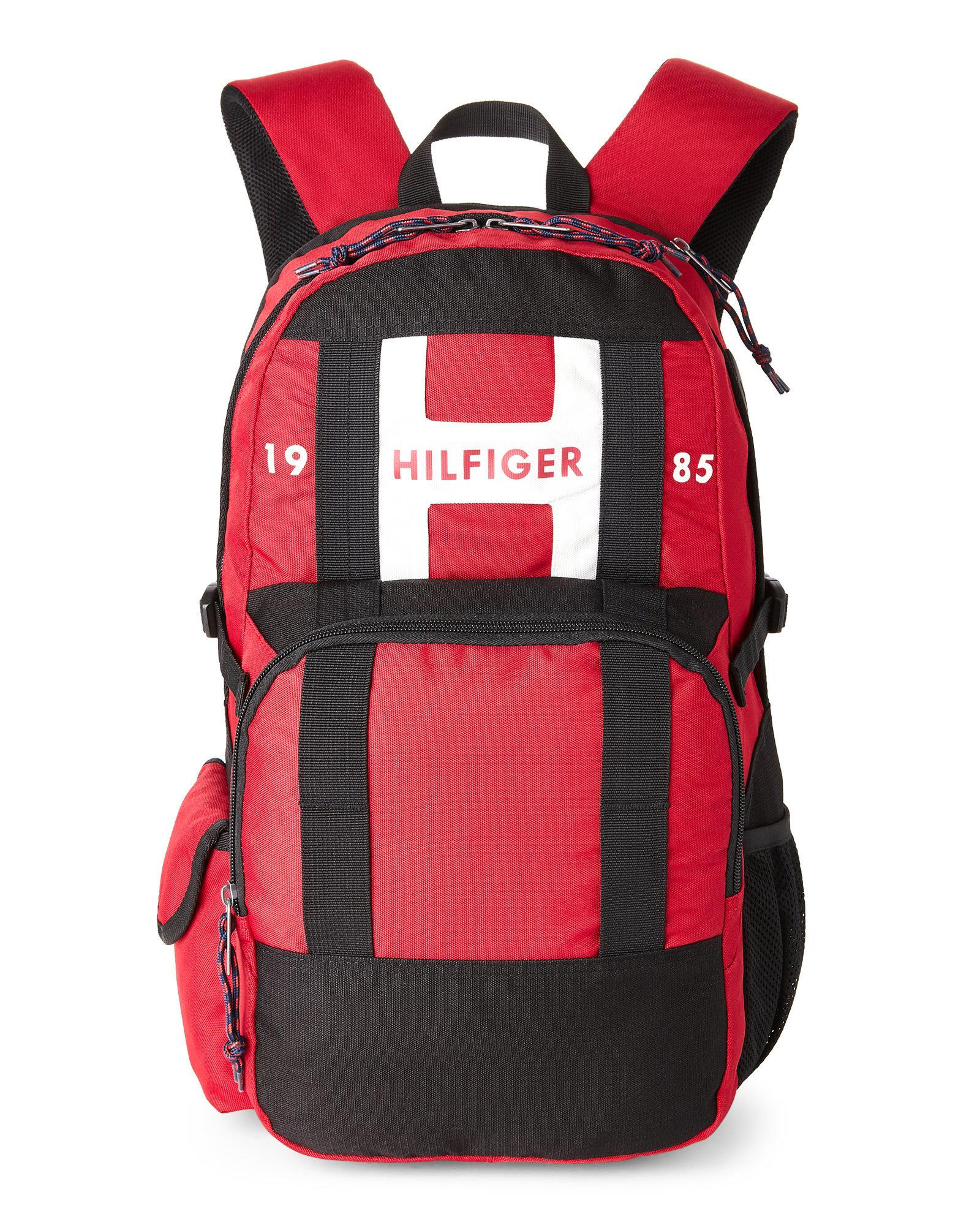 f6578951 Tommy Hilfiger Red Laptop Backpack- Fenix Toulouse Handball